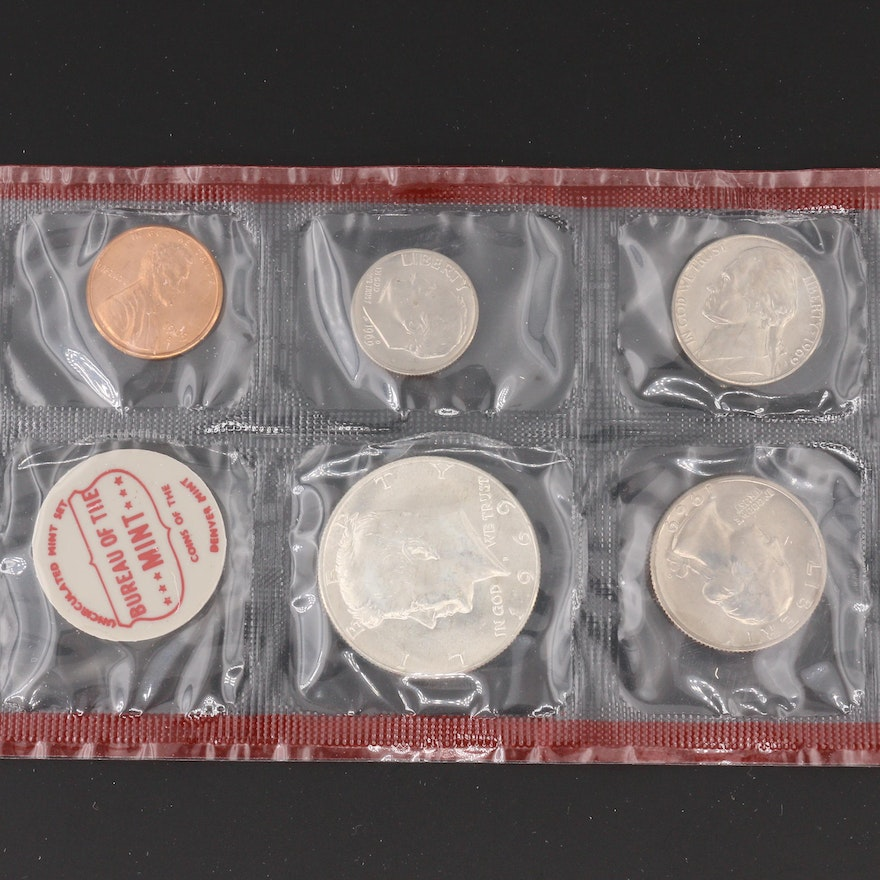 Group Of Three U S Mint Coin Sets Ebth