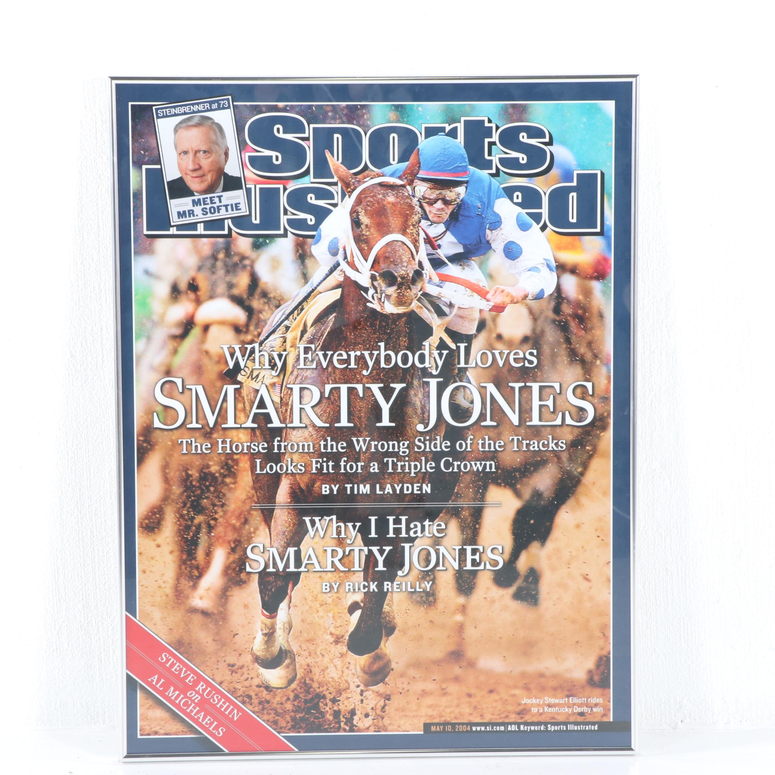 "Sports Illustrated Poster ""Why Everyone Loves Smarty Jones"""