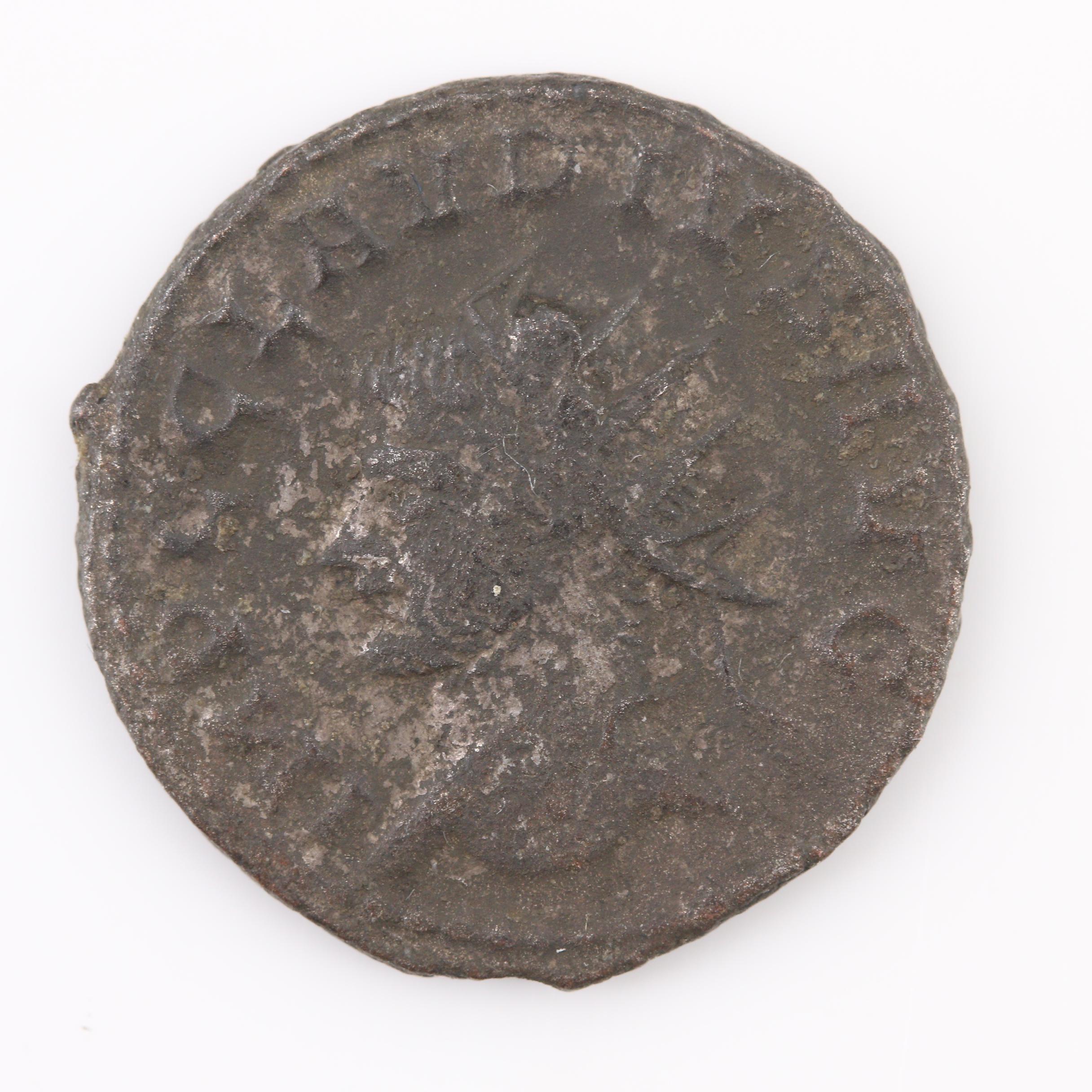 Ancient Roman Imperial Claudius II, AE Billon Antoninianus, ca. 268 A.D.