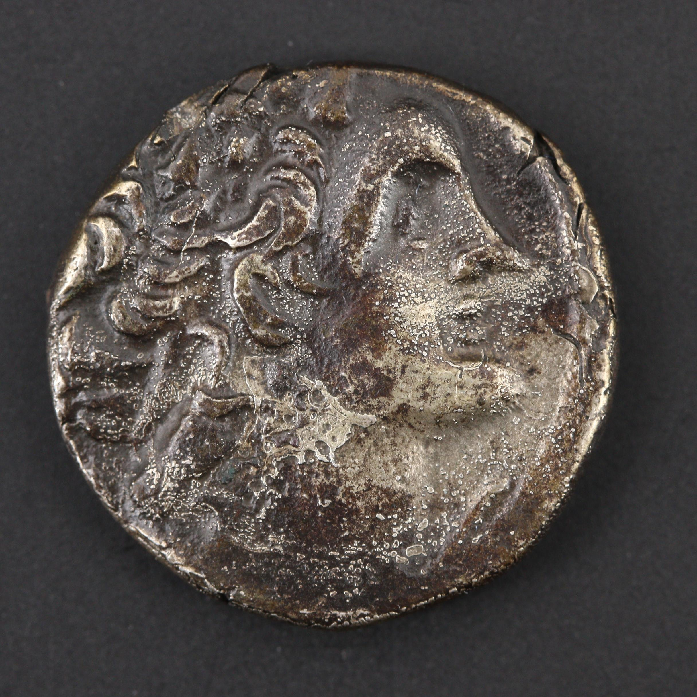 Ancient Ptolemaic Kings of Egypt, Ptolemy X, AR Tetradrachm, ca. 101-88 B.C.