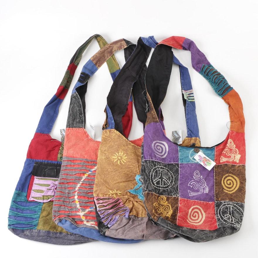 15f967fa4da Aller Simplement Patchwork Cotton Crossbody Bags   EBTH