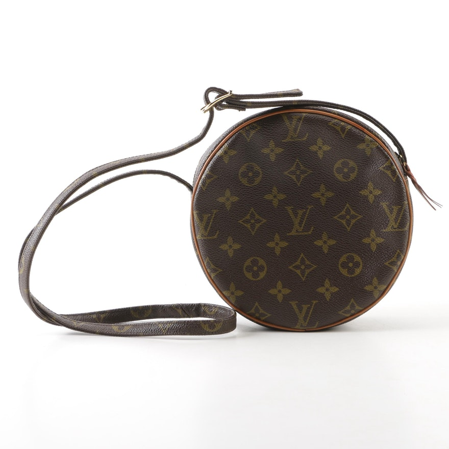 9ae9aaaea87 The French Company Louis Vuitton Monogram Canvas Circular Shoulder ...