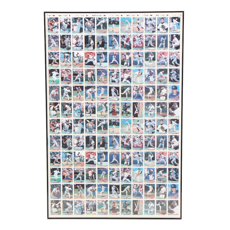 b6ef546f03 1994 Topps Uncut Production-Proof Sheet featuring Ken Griffey Jr. : EBTH