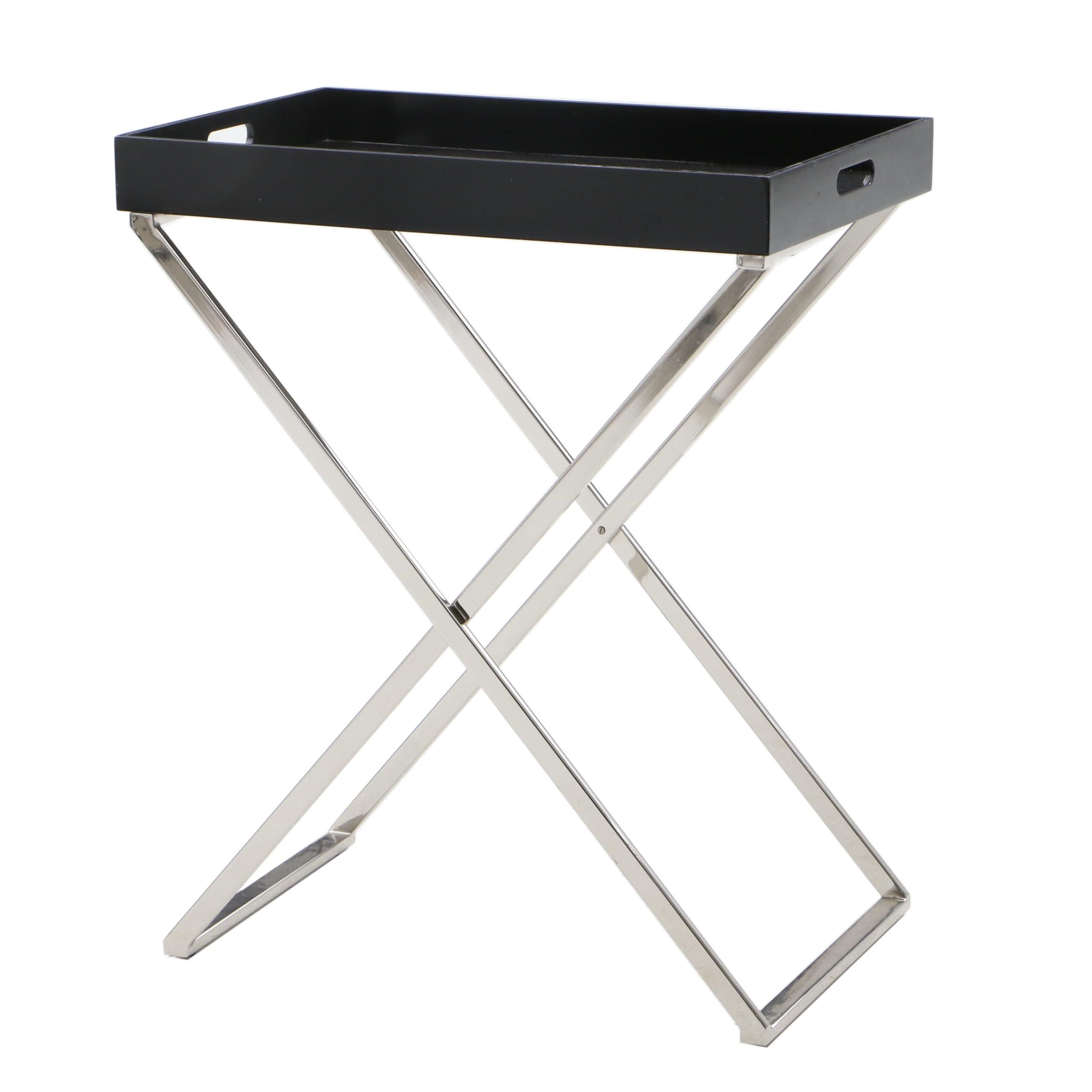 West Elm Butler Stand with Tray