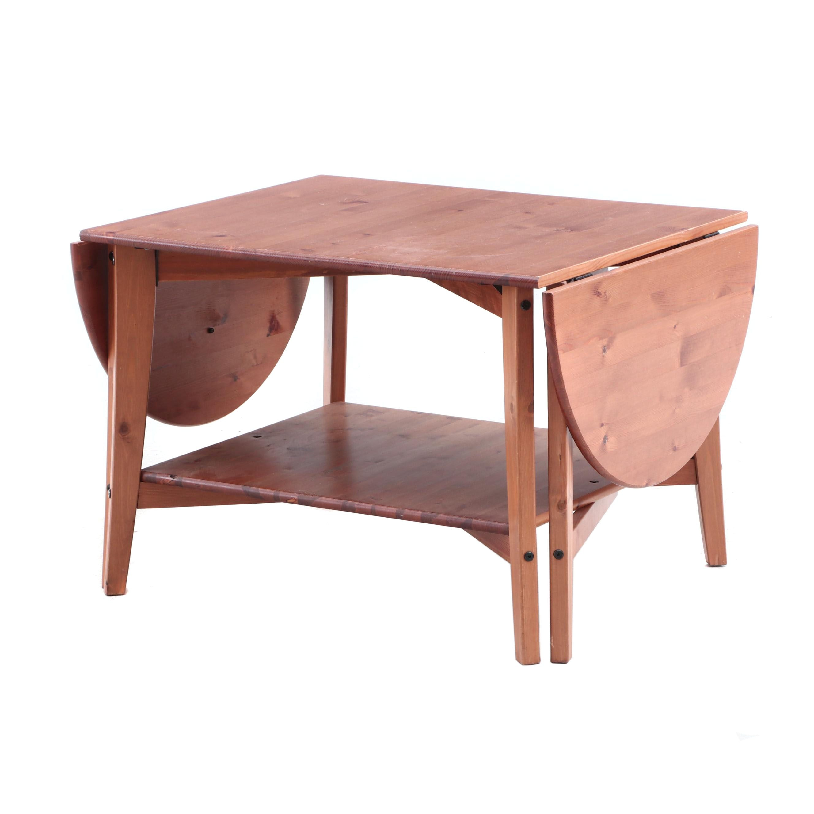 Drop Leaf Coffee Table in Pine