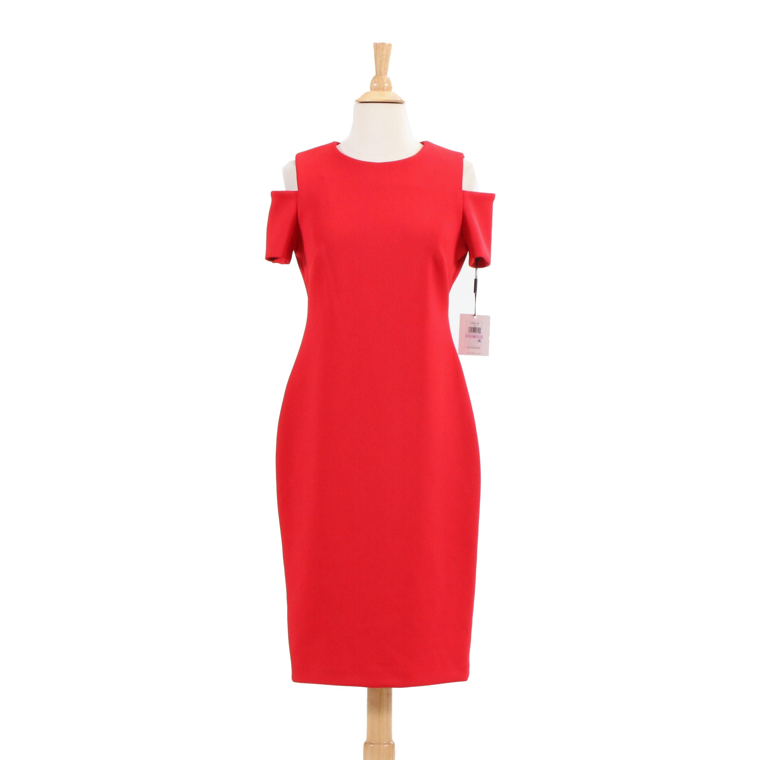 Calvin Klein Red Cocktail Dress