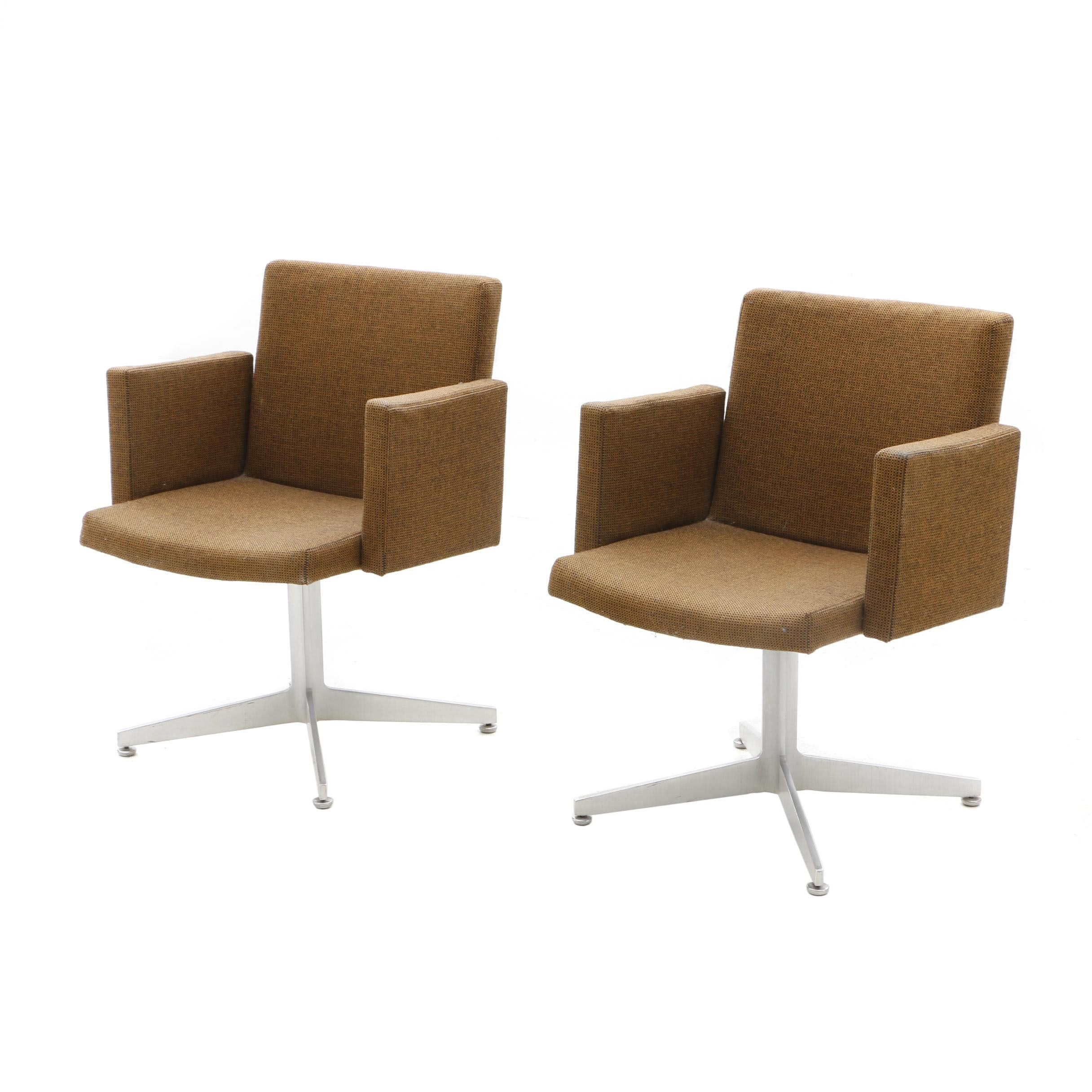 Two Mid-Century Good Form Office Chairs