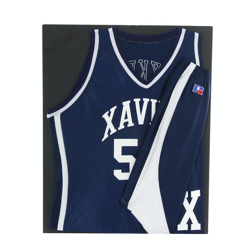 46a0ad6142f Xavier Basketball Uniform : EBTH