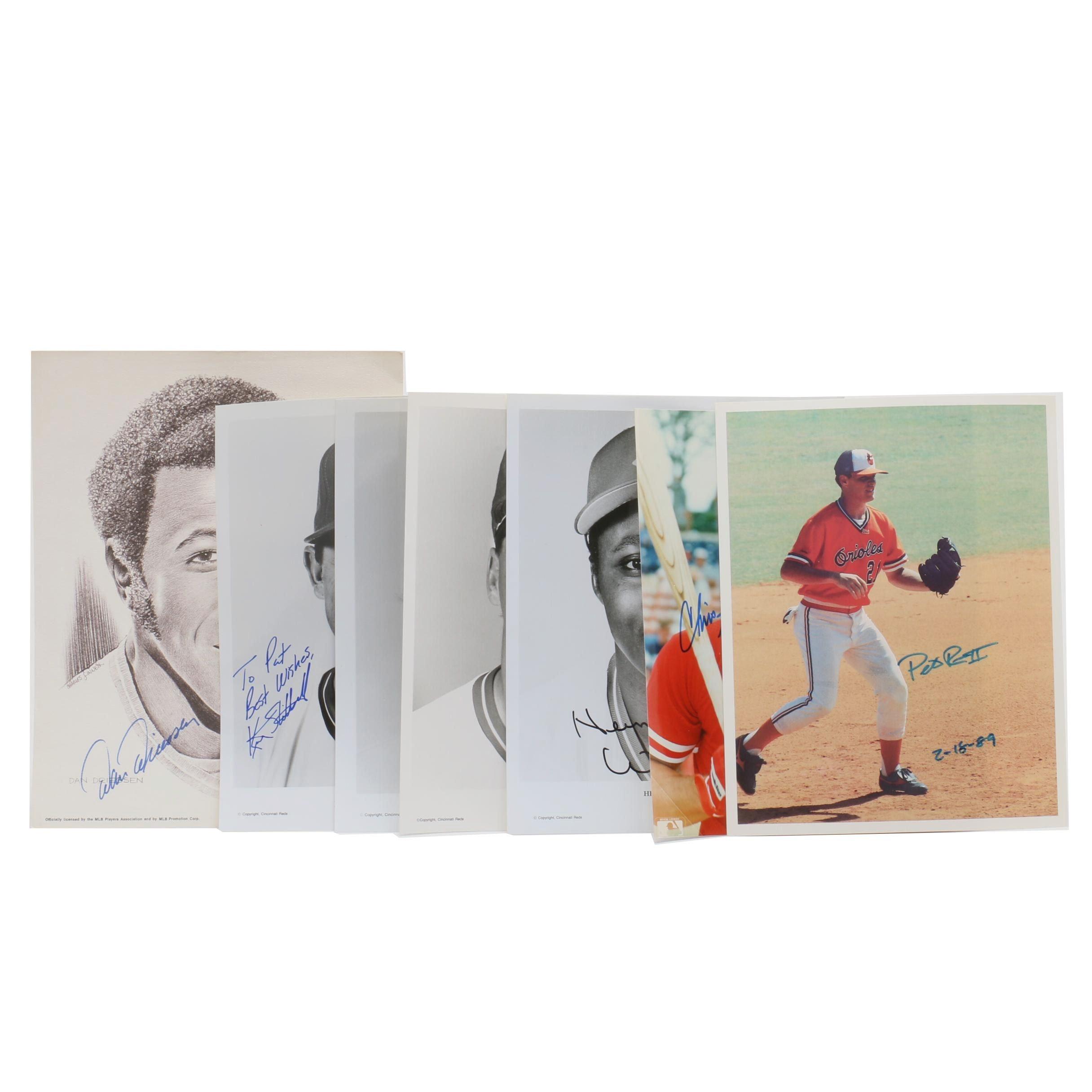 Cincinnati Reds Autographed Pictures