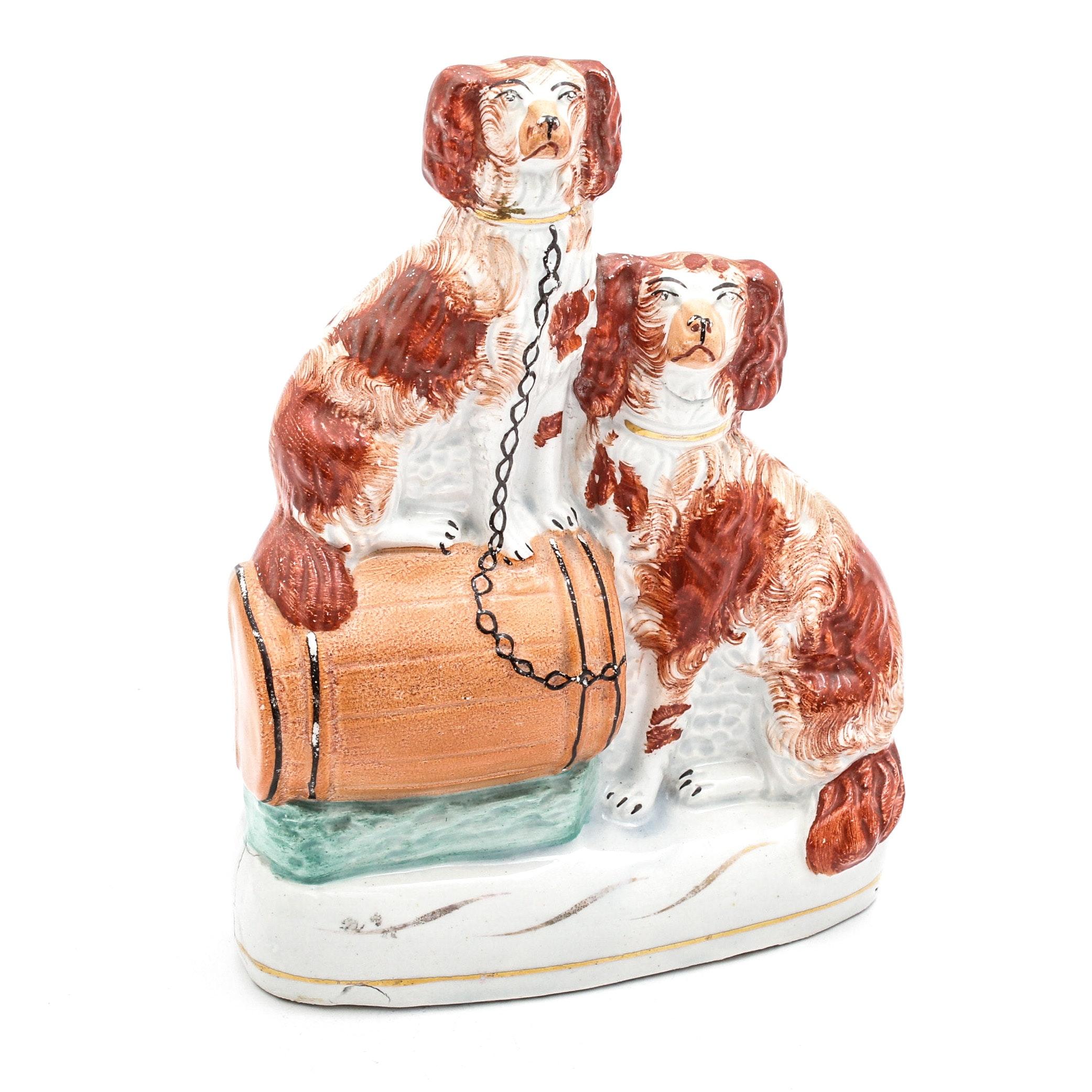 Staffordshire Ceramic Dogs