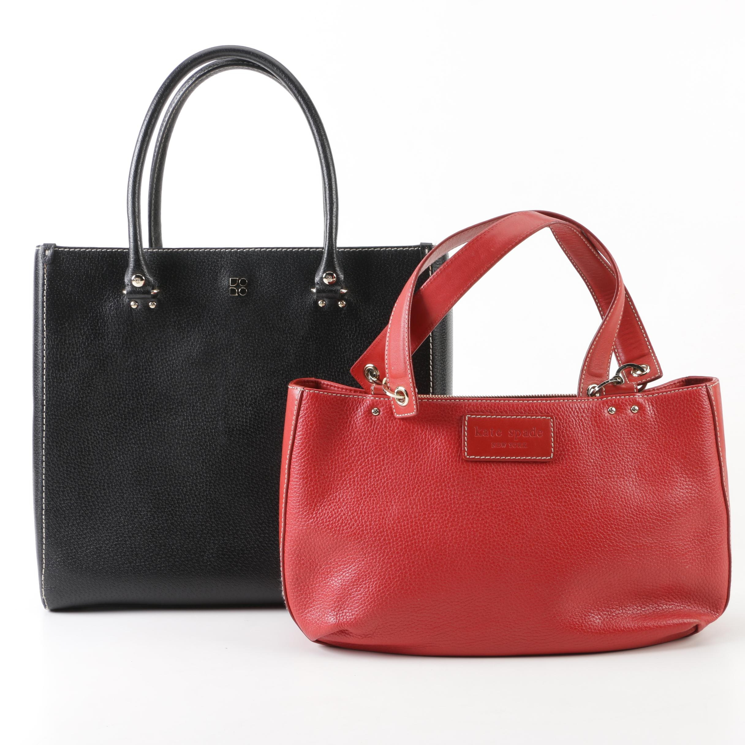Kate Spade New York Leather Handbags