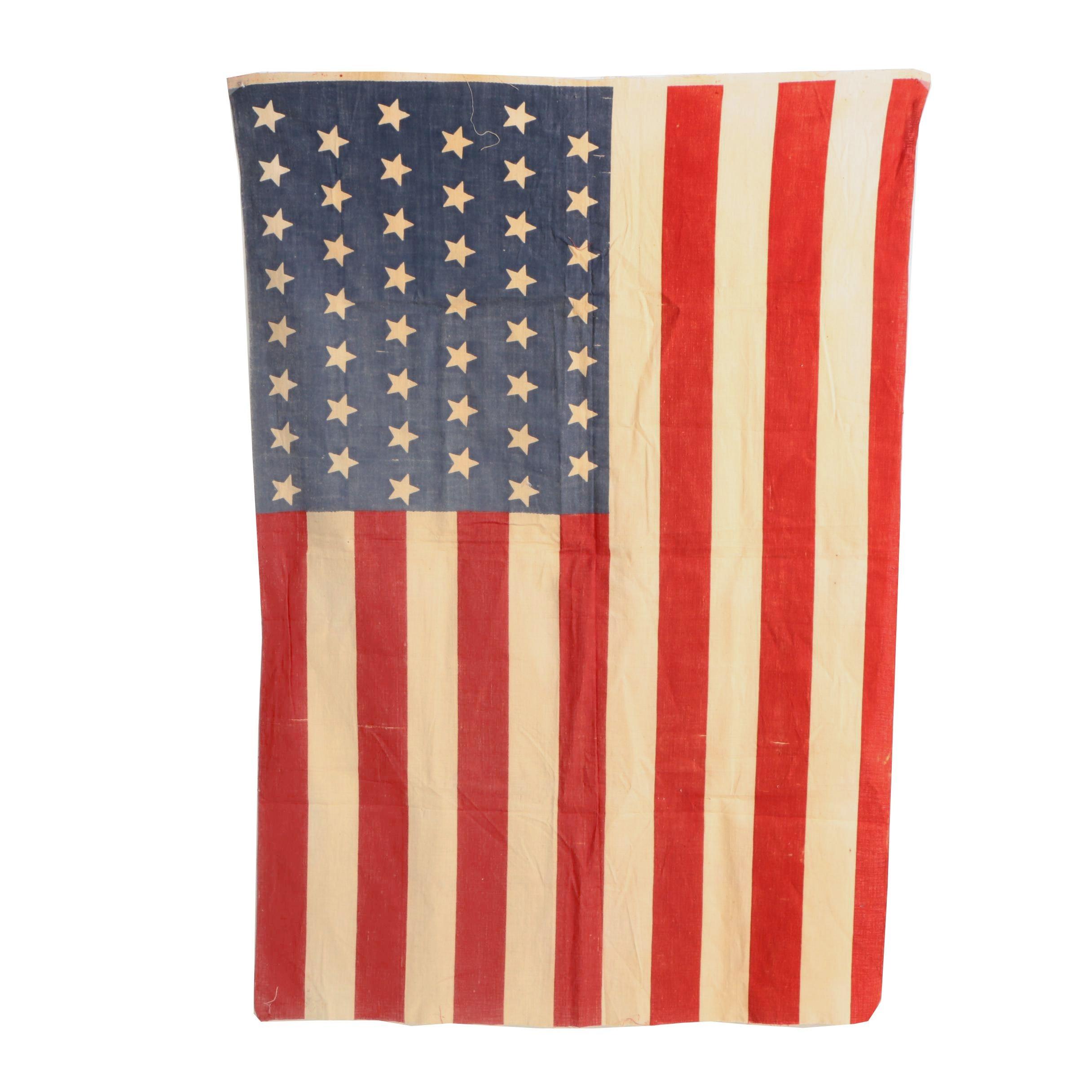 45 Star American Flag, 1896 - 1908
