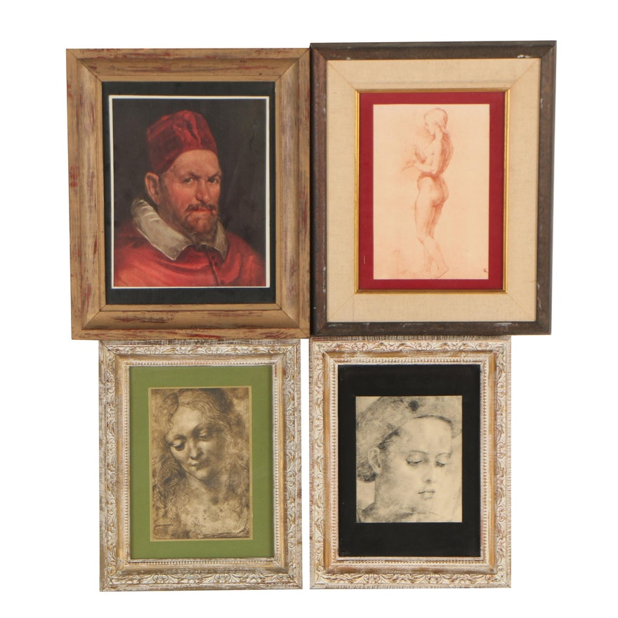 Photomechanical Prints after Old Masters