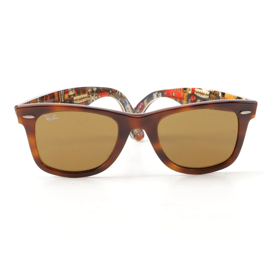a55f6589c4 Ray-Ban RB2140 Special Series  9 Wayfarer Sunglasses with Case