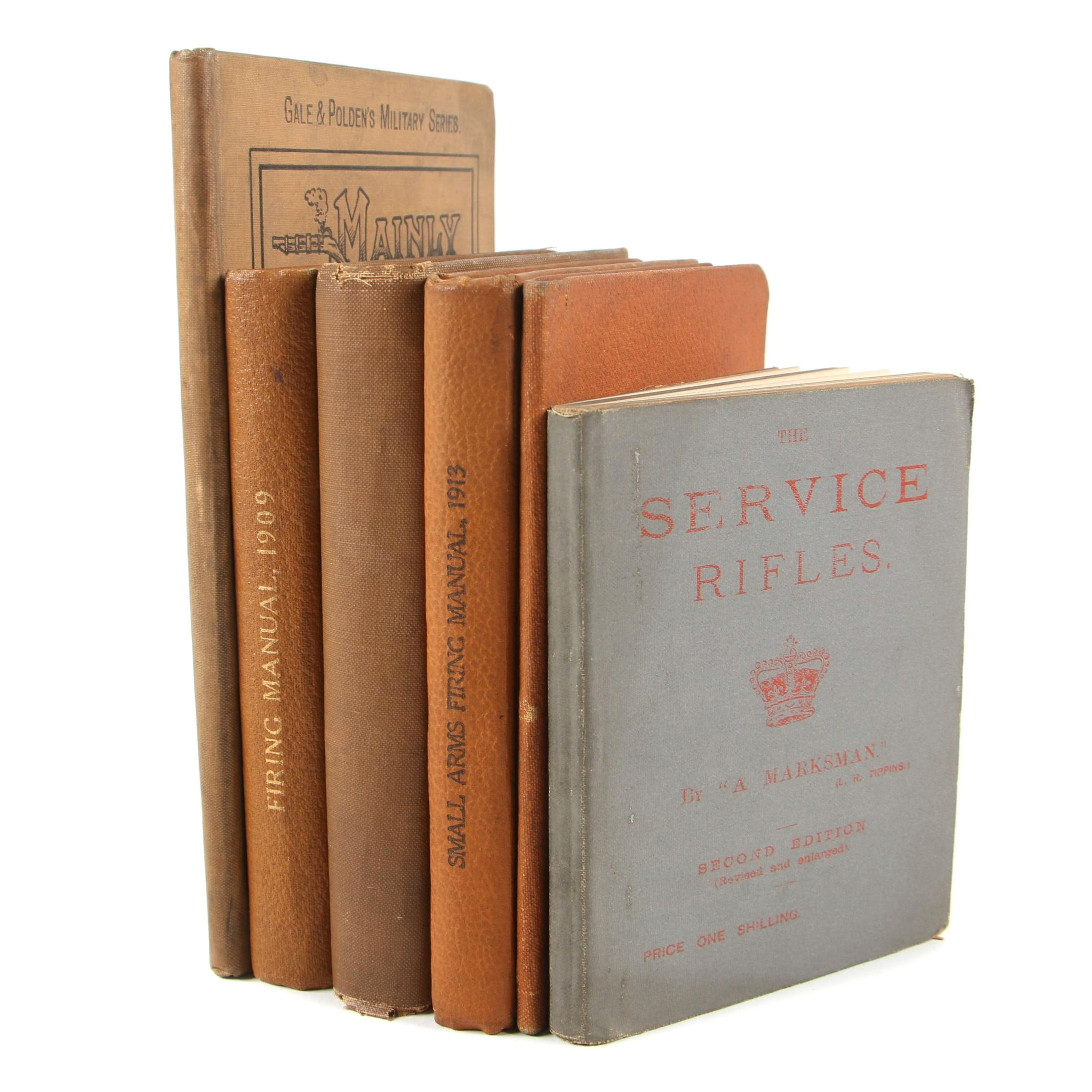 Group of Antique Military and Firearms Books