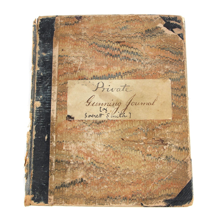 The Private Gunning Journal of Everett Smith, 1866-1880