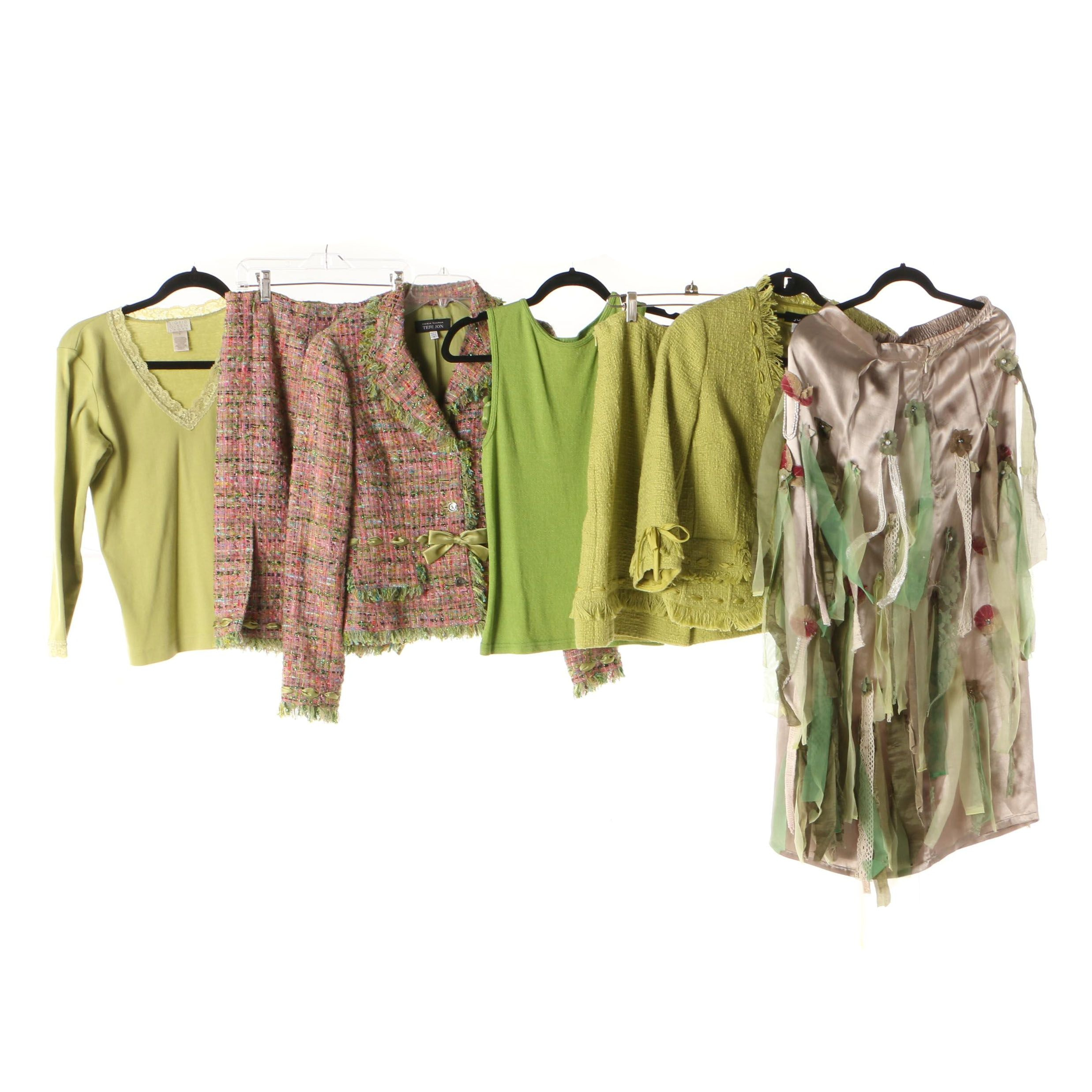 Women's Tops, Skirt, and Skirt Suits Including Michael Stars and Sigrid Olsen
