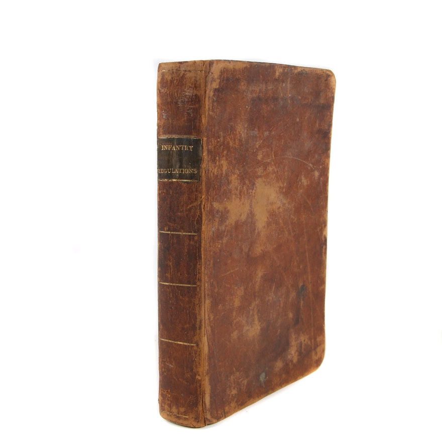"""1817 """"Rules and Regulations for the Field Exercise and Manœuvres of Infrantry"""""""