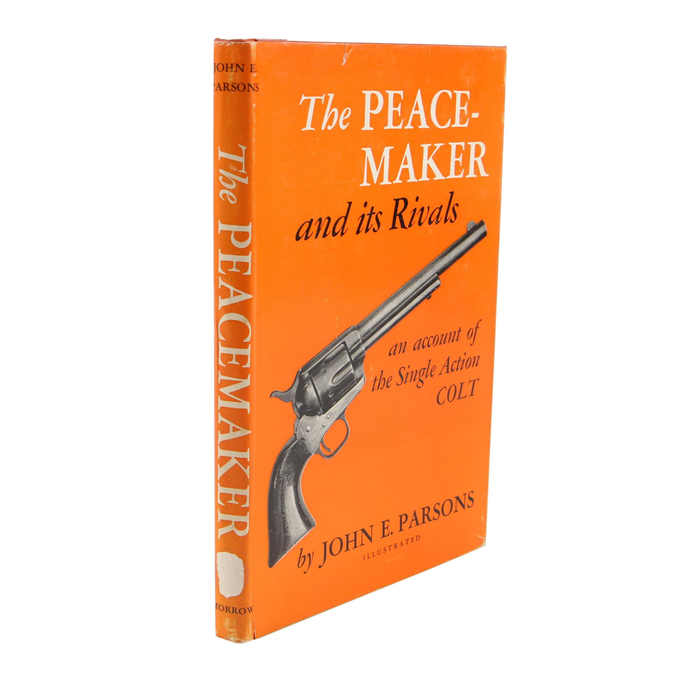 "Signed ""The Peacemaker and Its Rivals"" by John E. Parsons, 1950"