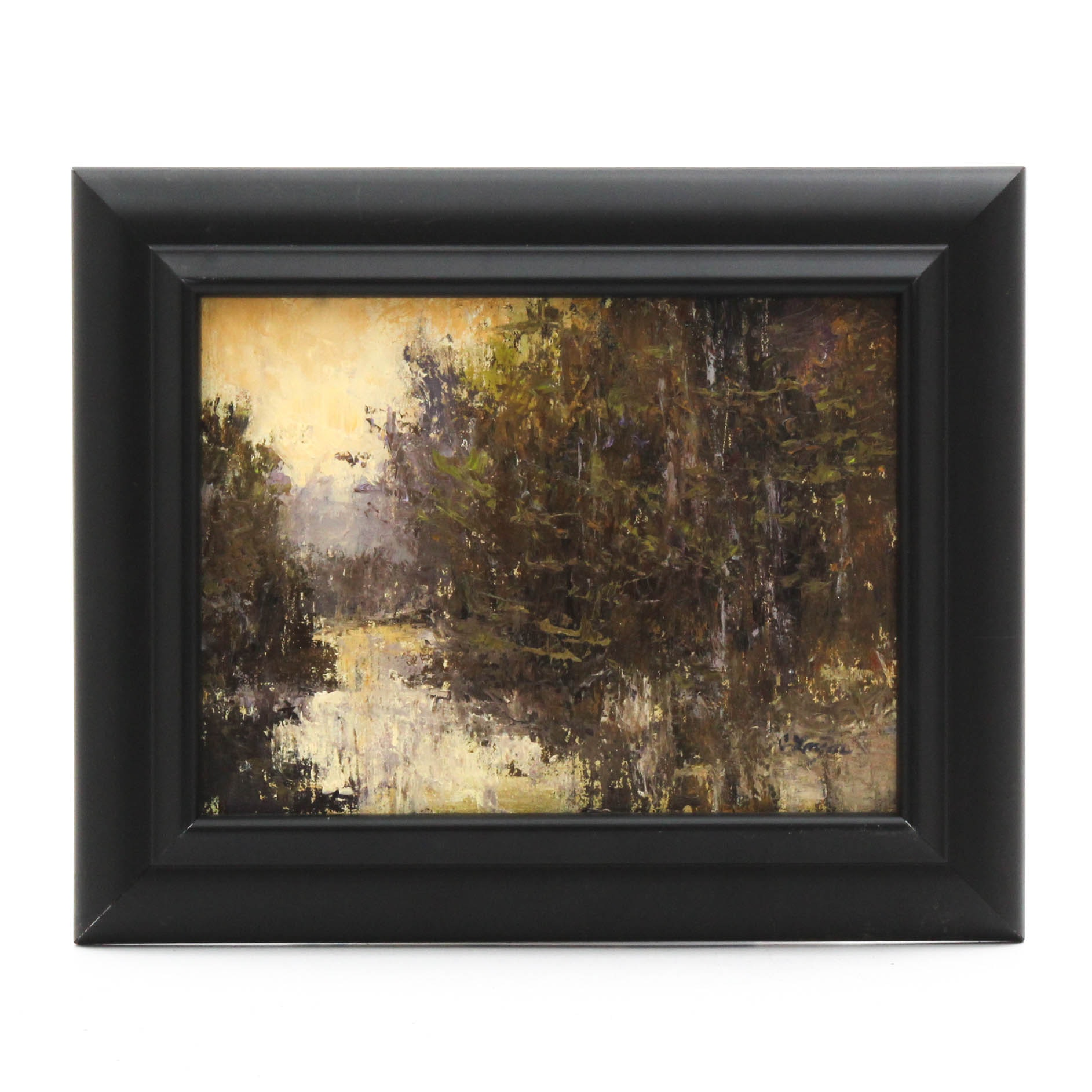 Connie Layne Impressionist Style Oil Painting