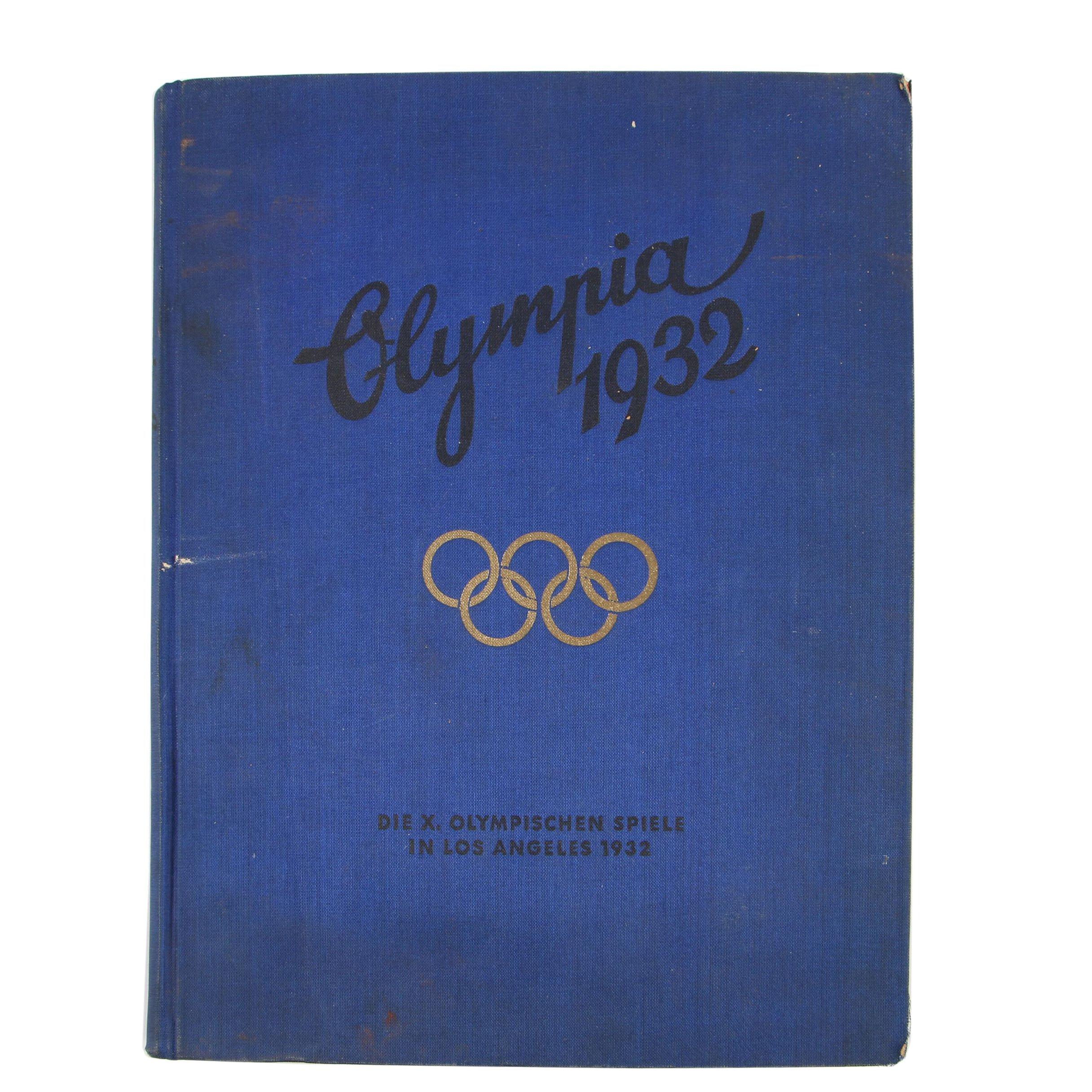 German Language Album of the 1932 Los Angeles Olympics