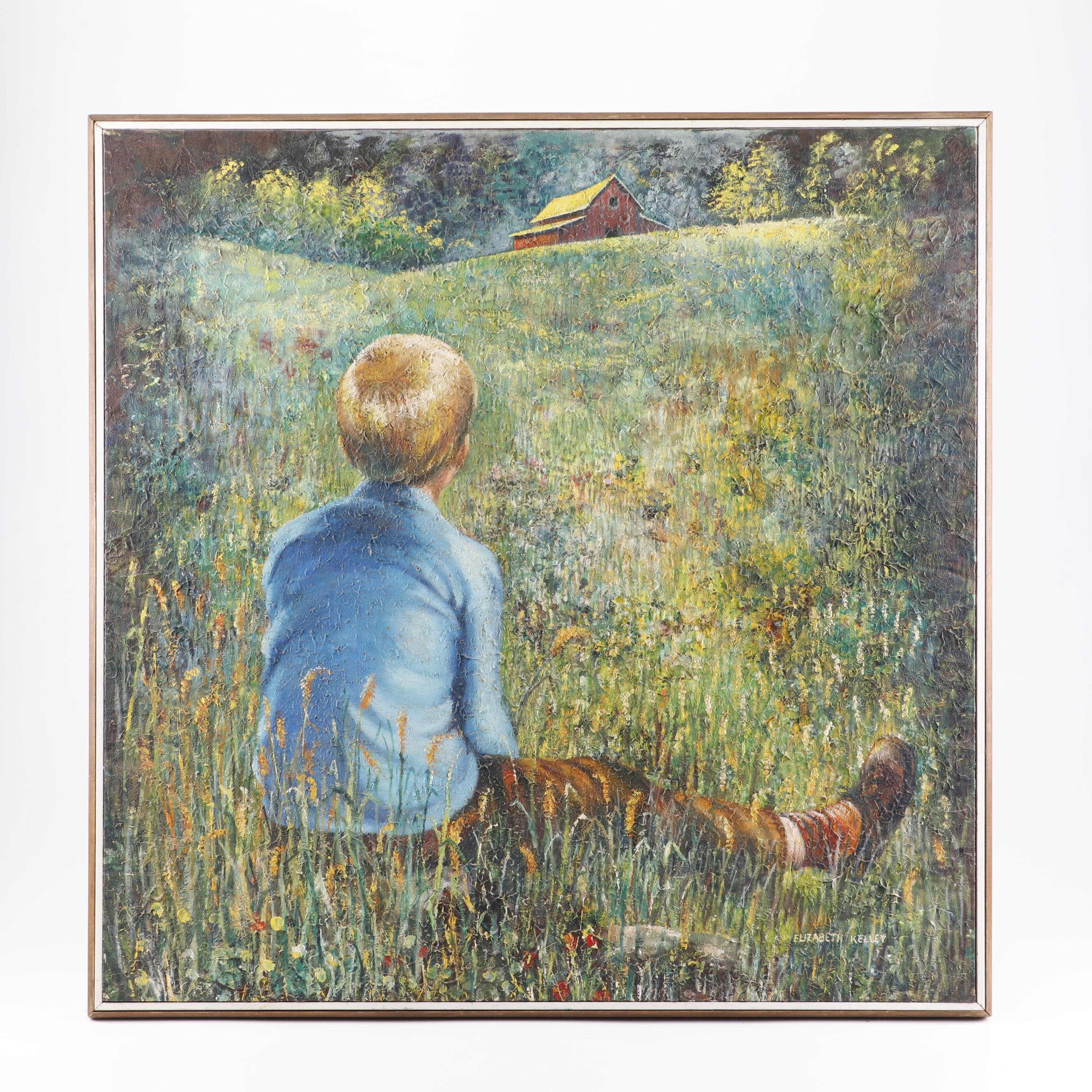 Elizabeth Kelley Oil Painting