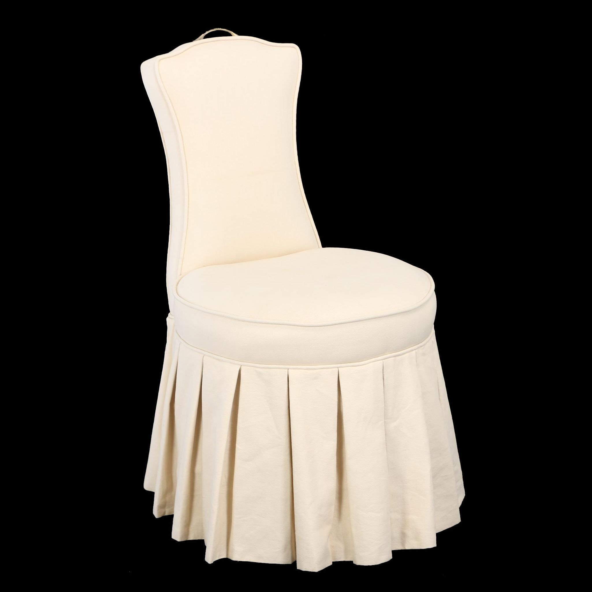 """Contemporary """"Elena"""" Vanity Stool by Frontgate"""