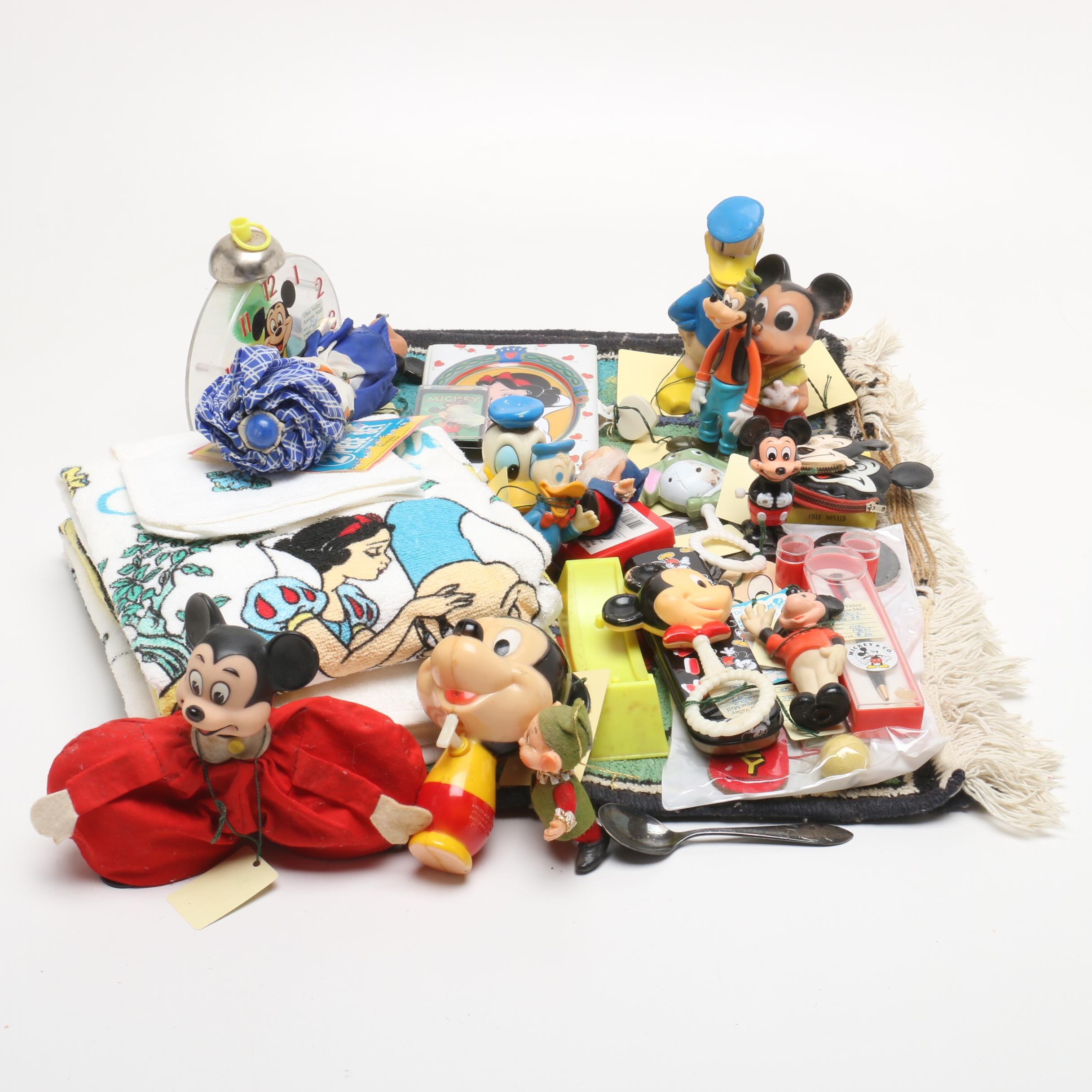 1960s-1980s Mickey Mouse and Friends Toys and Collectibles