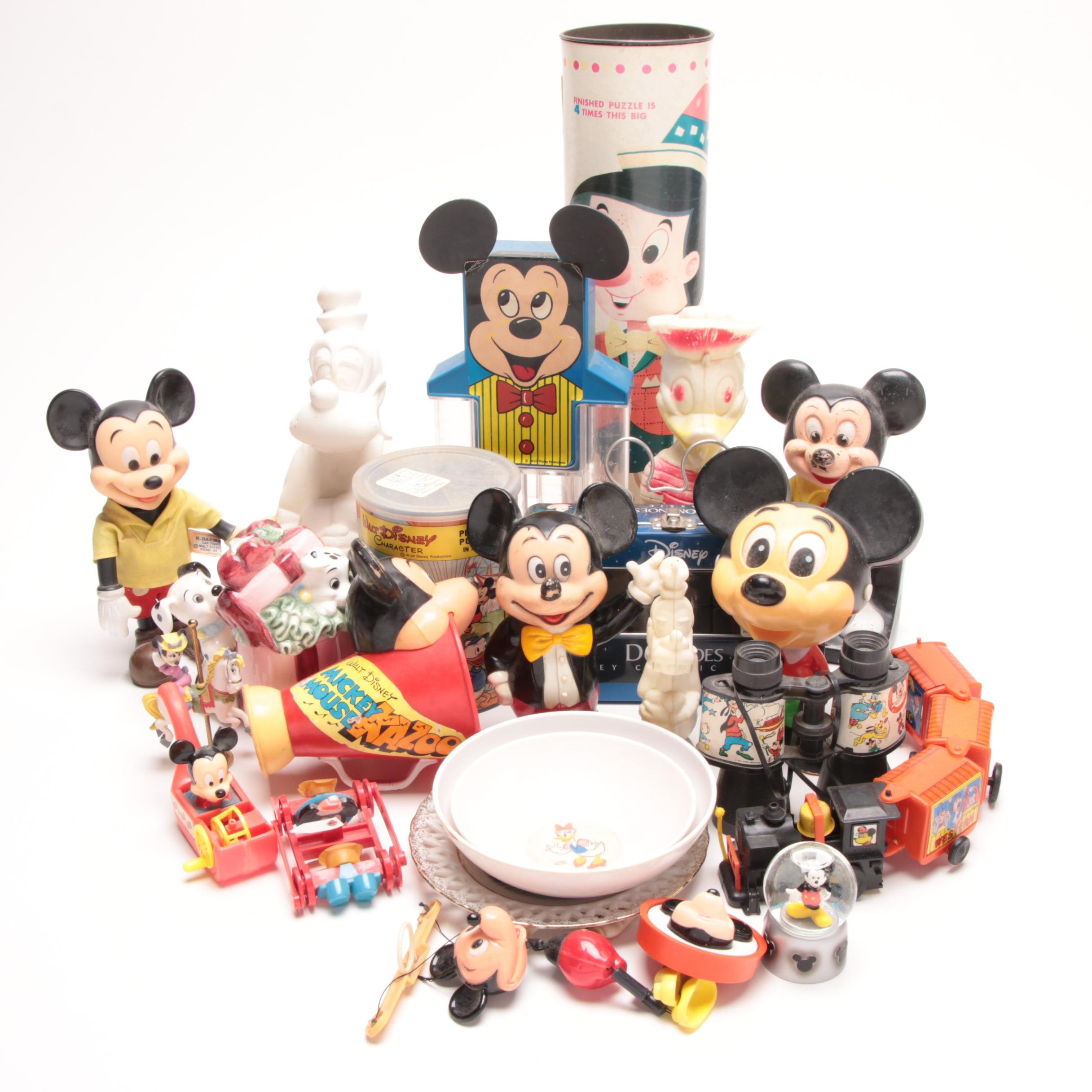 Mickey Mouse and Walt Disney Themed Toys and Collectibles
