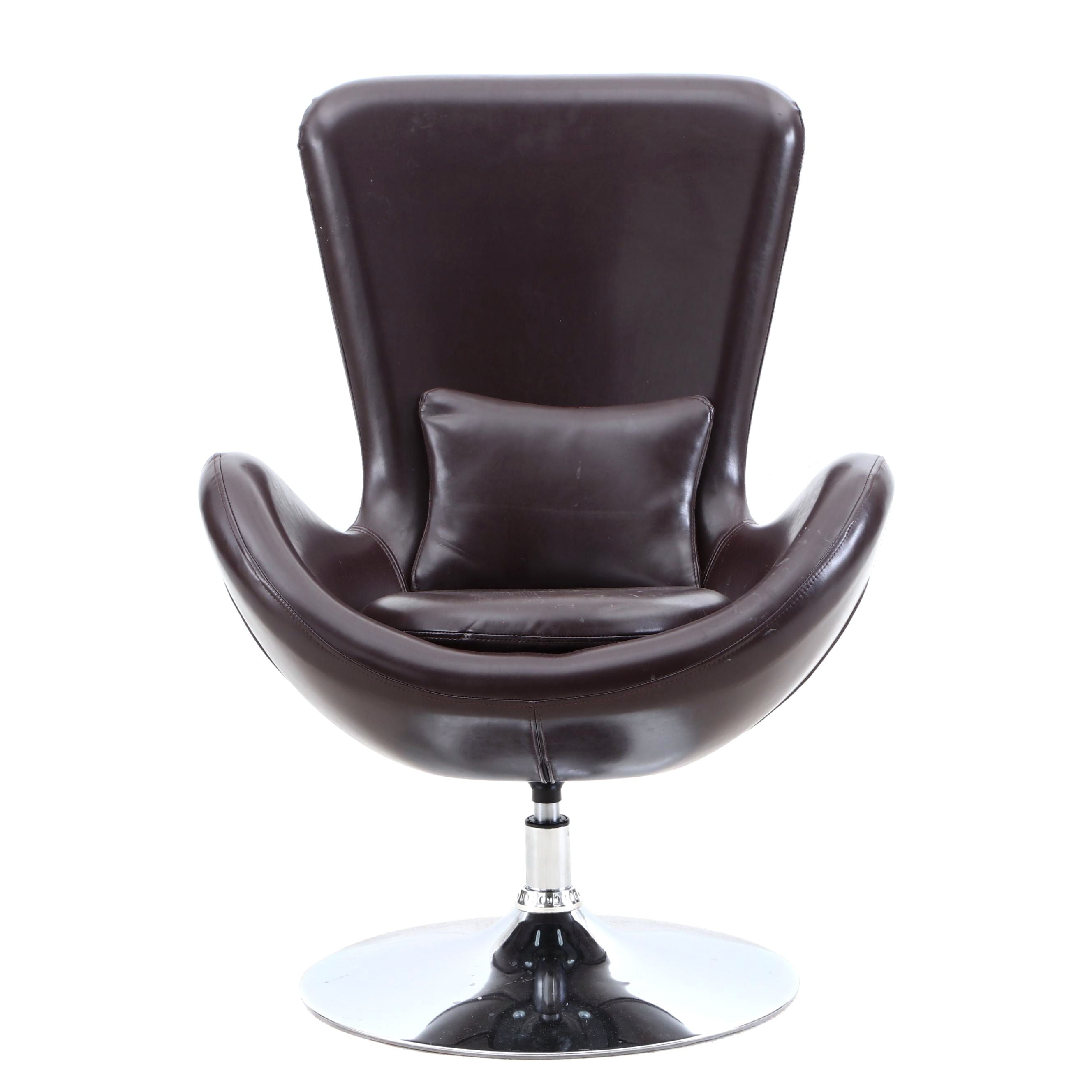 Orren Ellis Palisades Style Swivel Lounge Chair