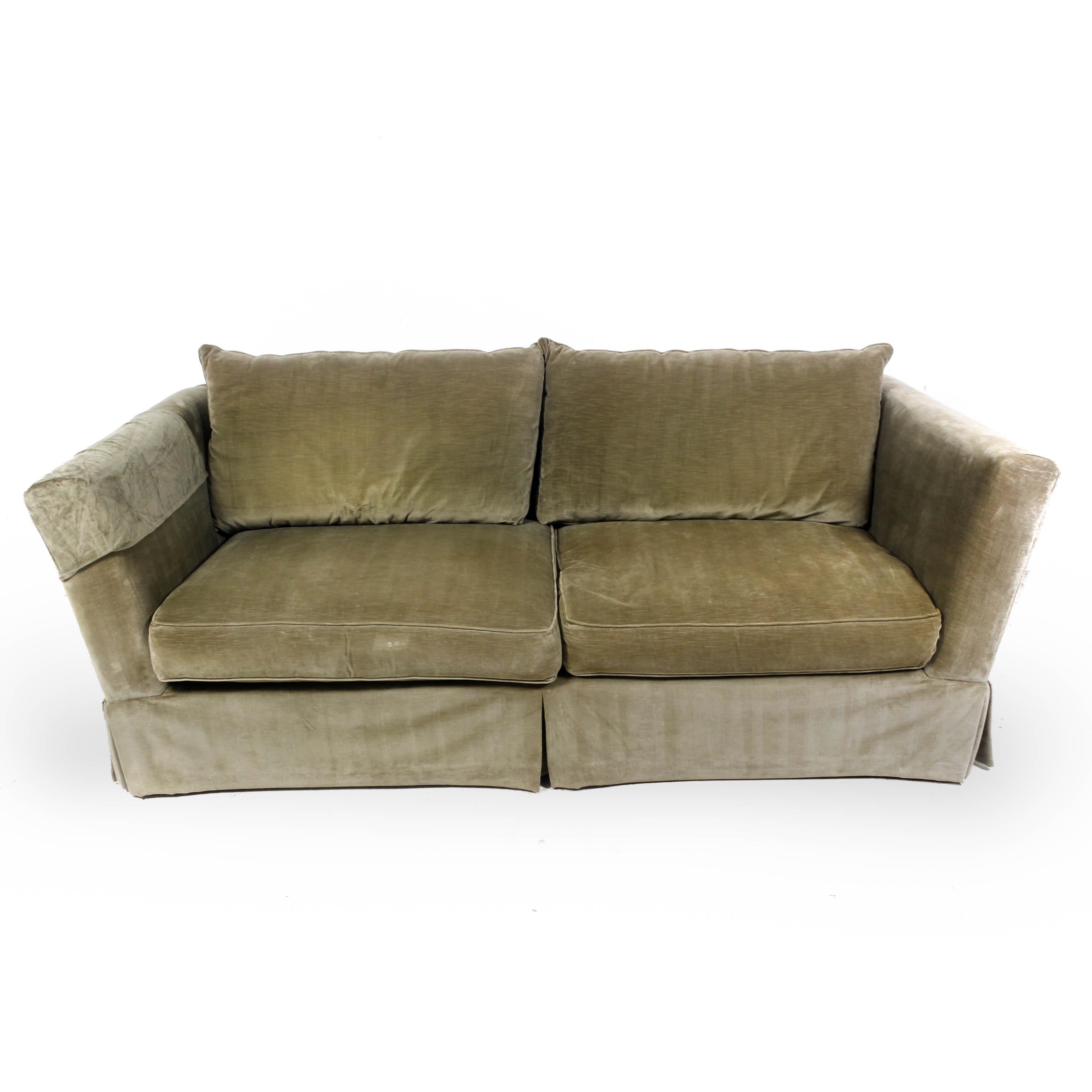 Henredon Velour Couch