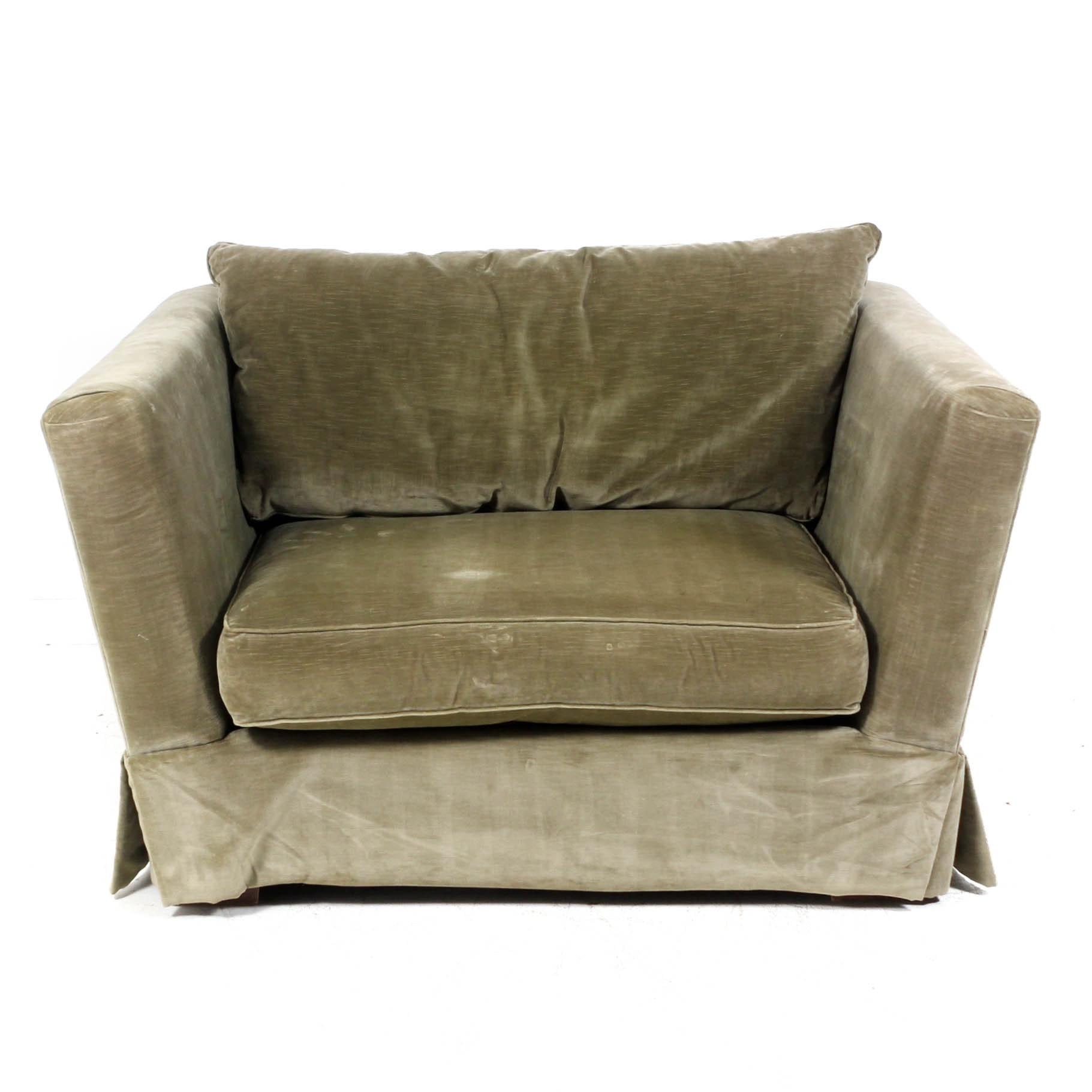 Henredon Velour Chair