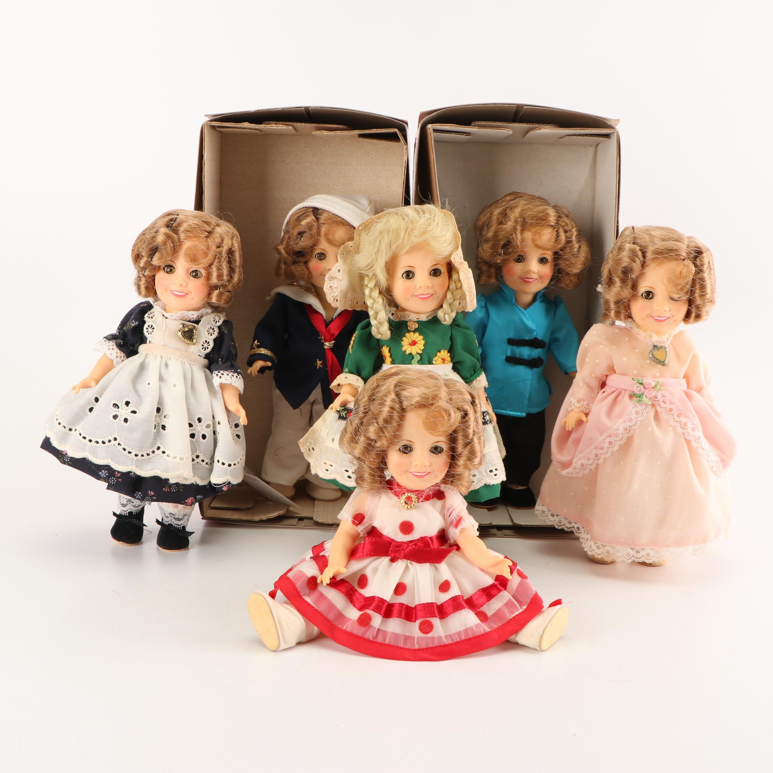 """Ideal """"Shirley Temple"""" Collection Vinyl Dolls, 1982"""