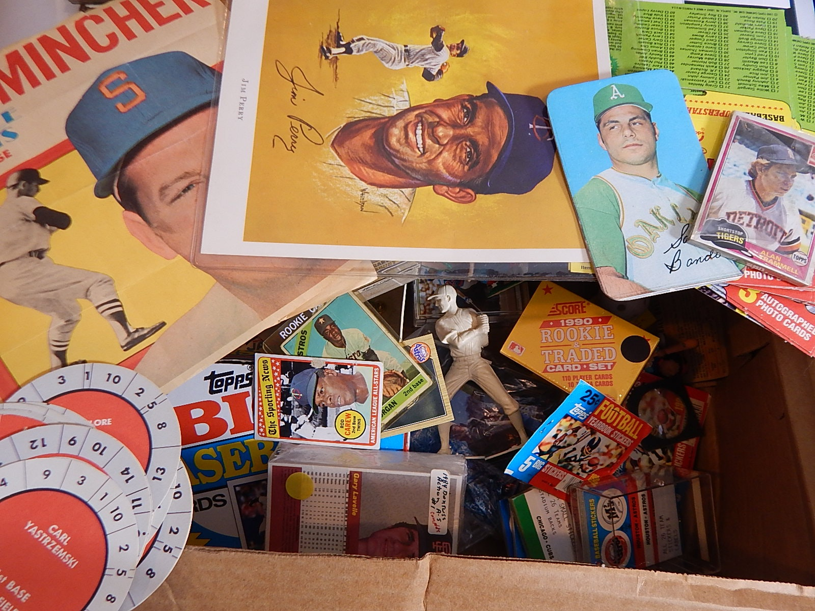 Sports Related Cards and Memorabilia Collection