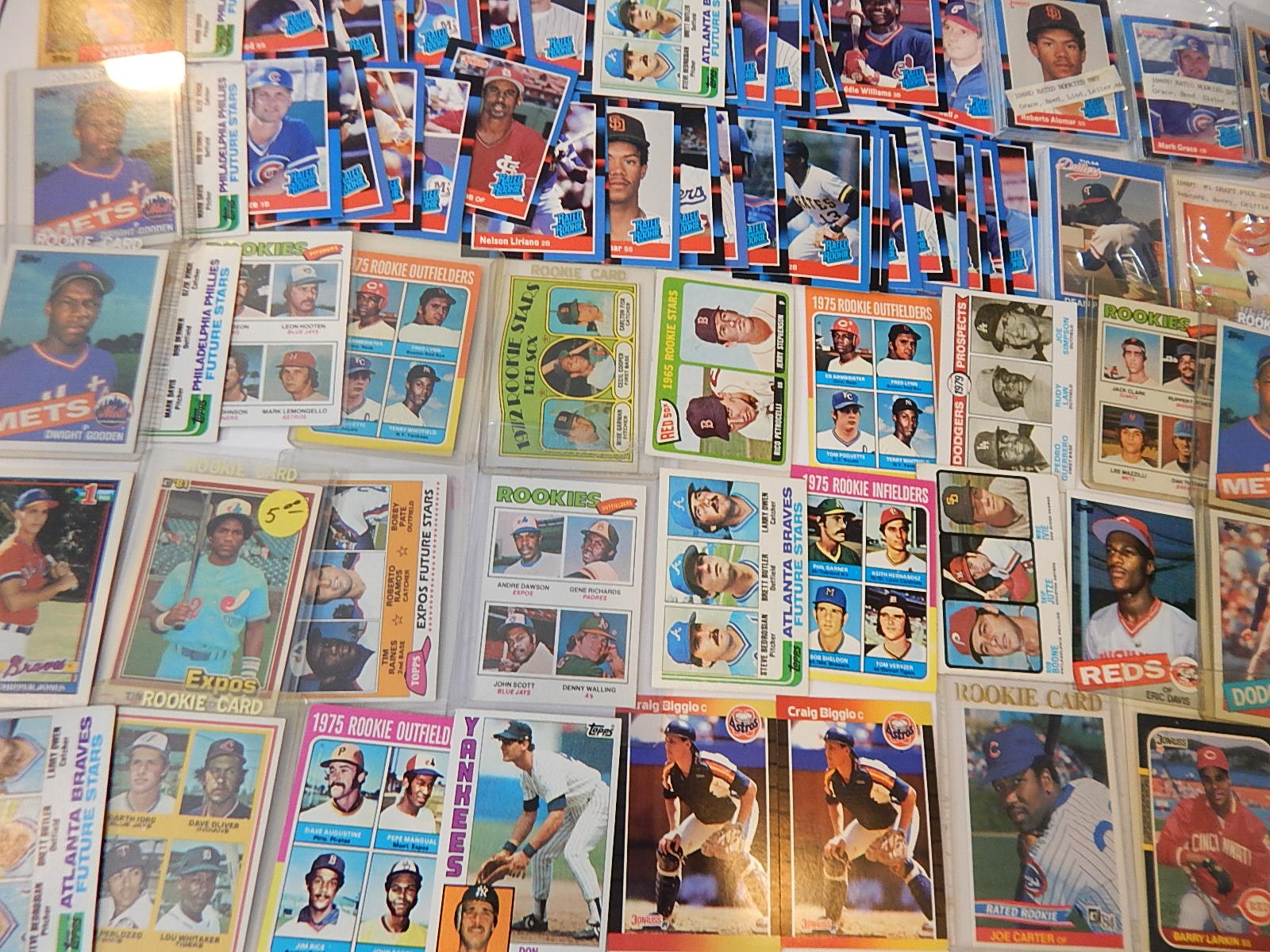 1960s to 1980s Star and Hall of Fame Rookie Cards