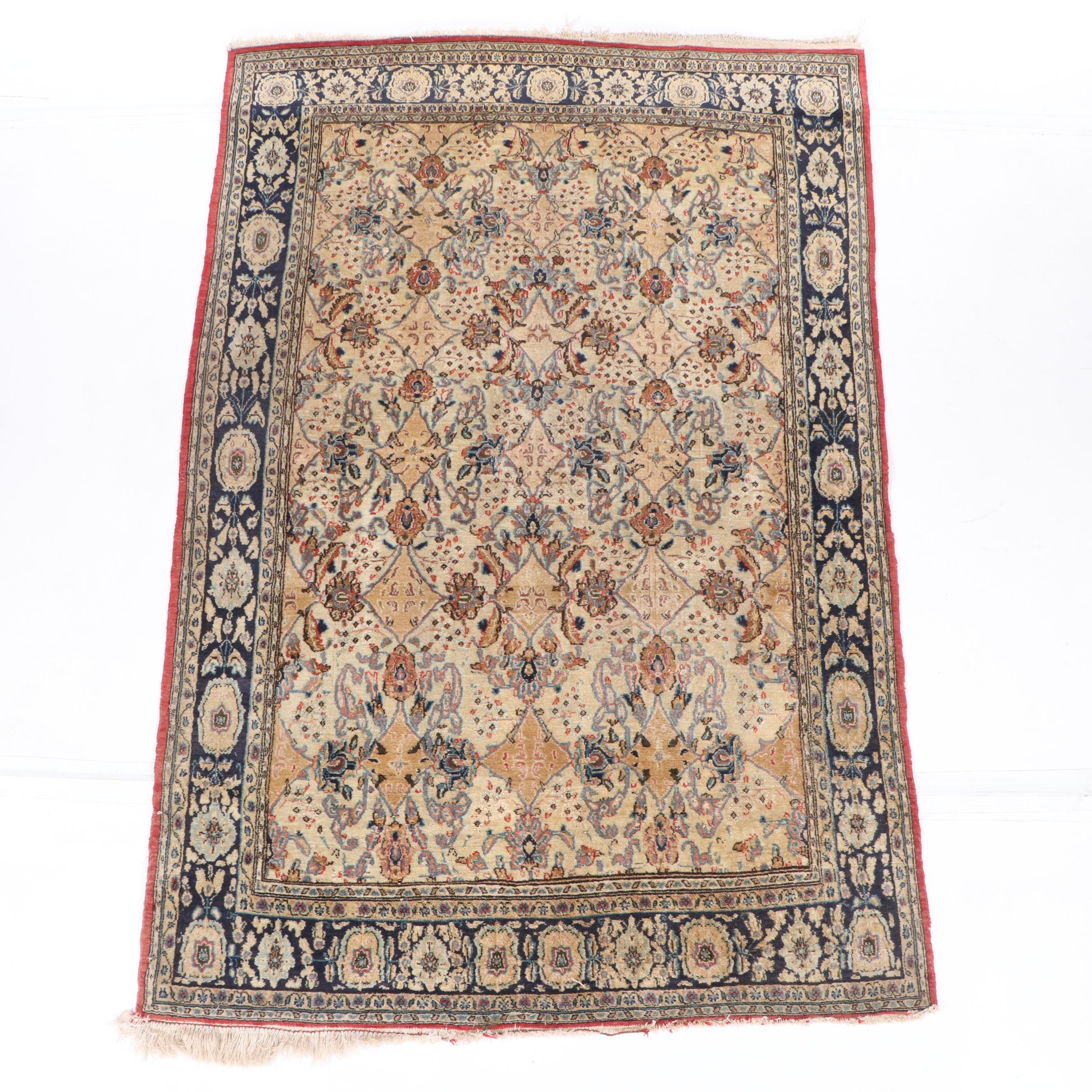 Hand-Knotted Northwest Persian Wool Area Rug