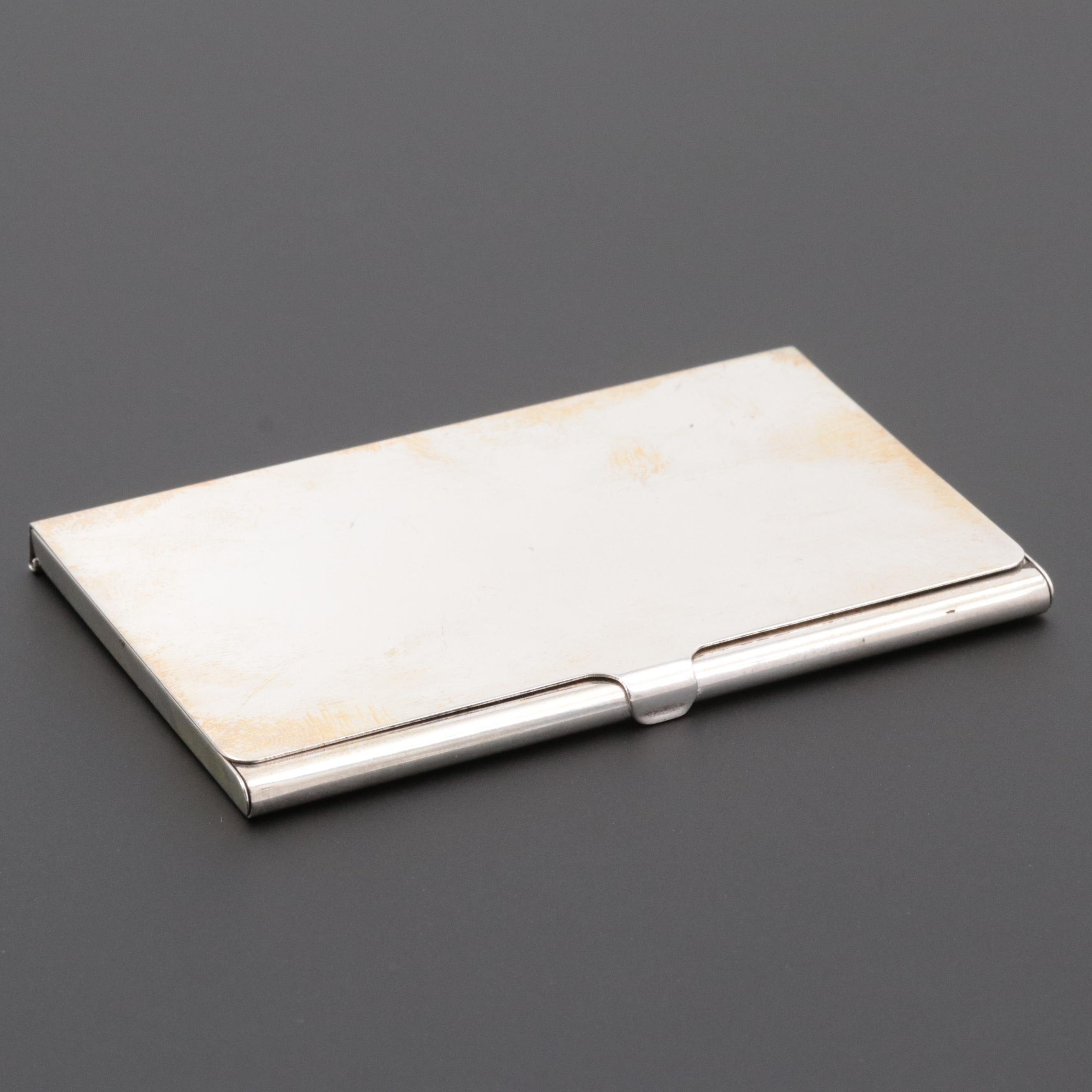 Tiffany & Co. Sterling Silver Business Card Case
