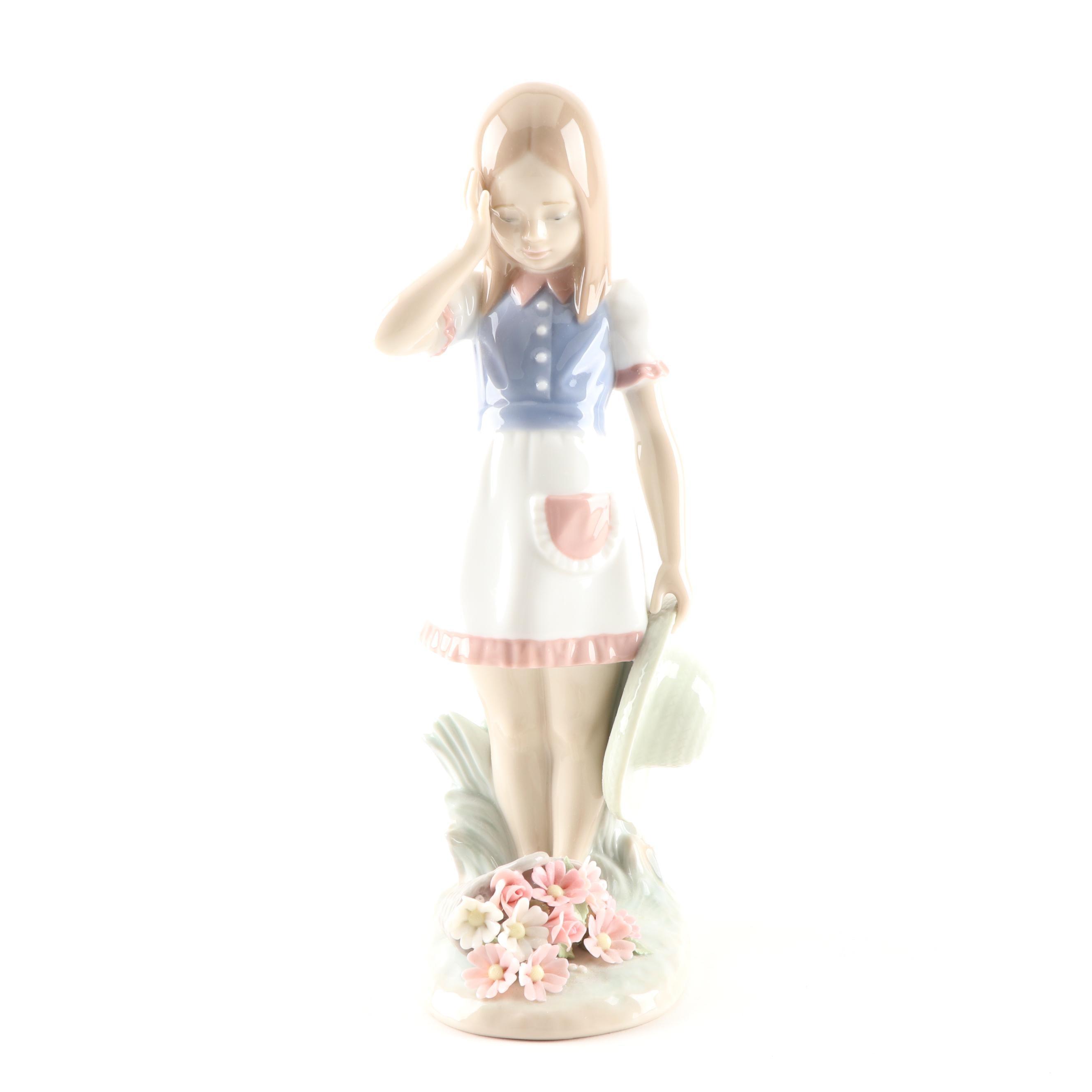 "Lladró ""My Goodness"" Porcelain Figurine"