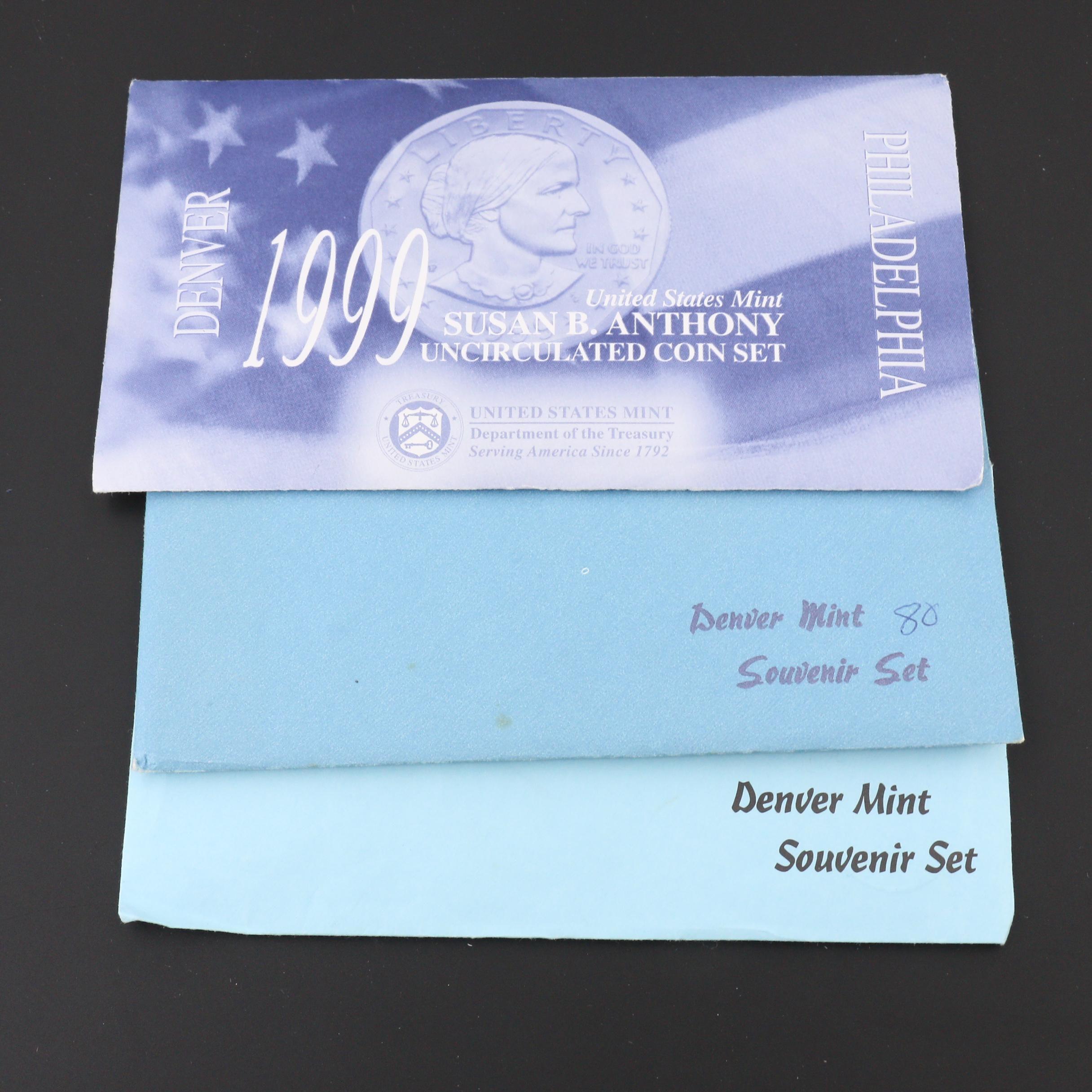Three U.S. Mint Coin Sets