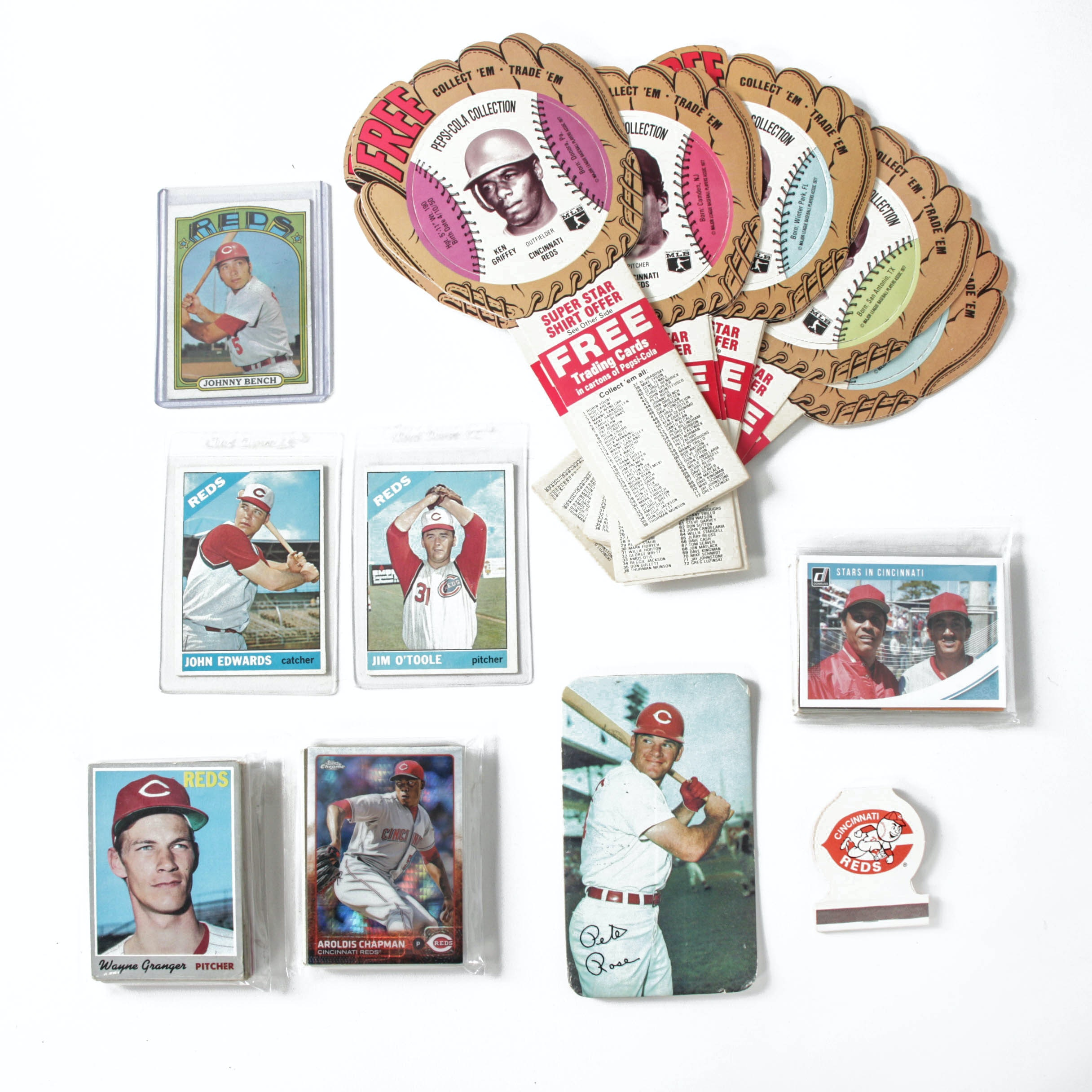 Cincinnati Reds Baseball Cards and Collectibles