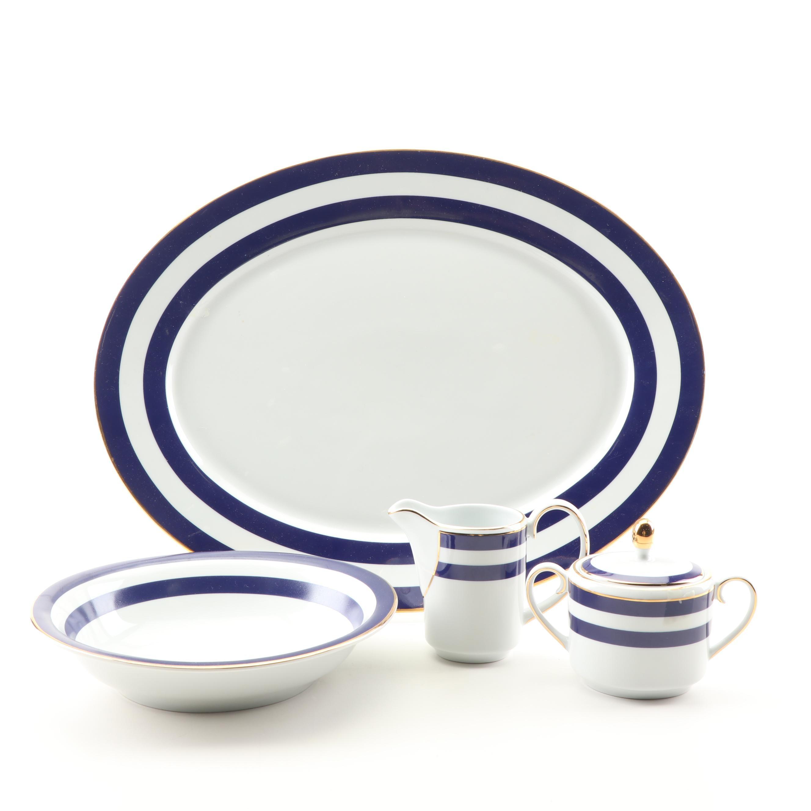 "Ralph Lauren ""Spectator Cadet"" Ceramic Serveware Set"