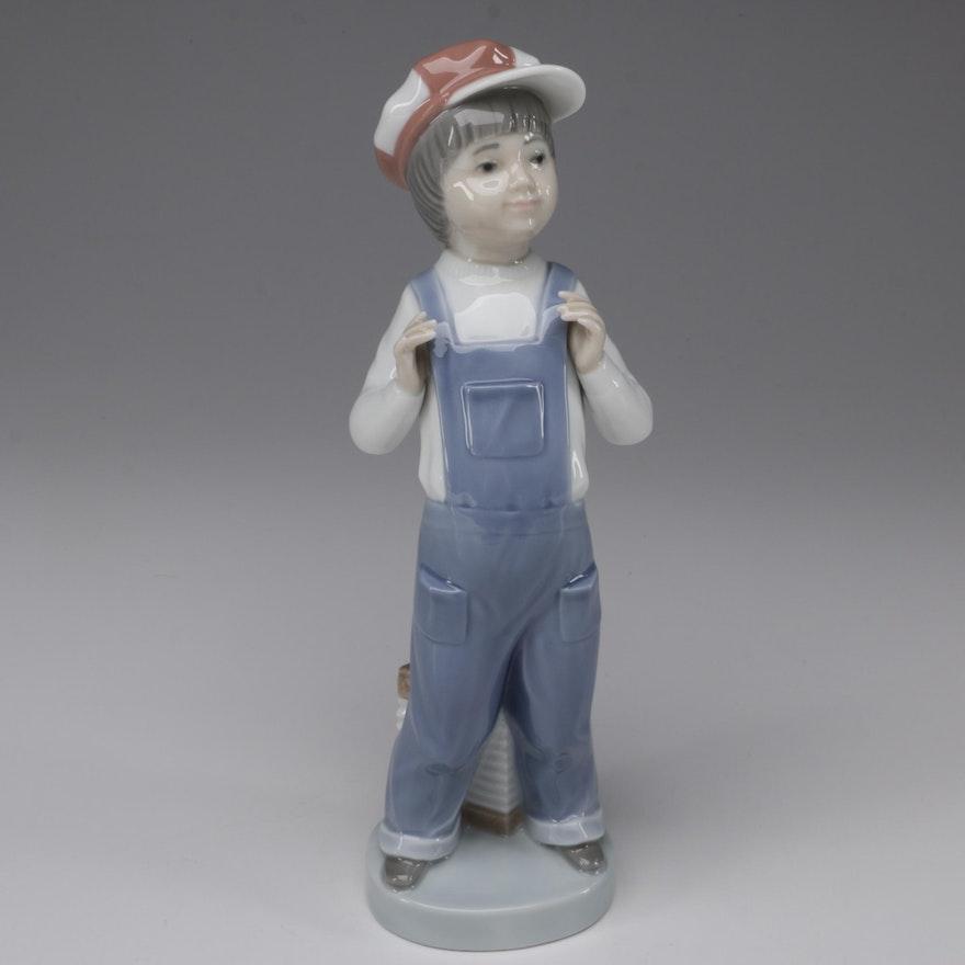 "Lladró ""Boy From Madrid"" Porcelain Figurine Designed by Francisco Catala"