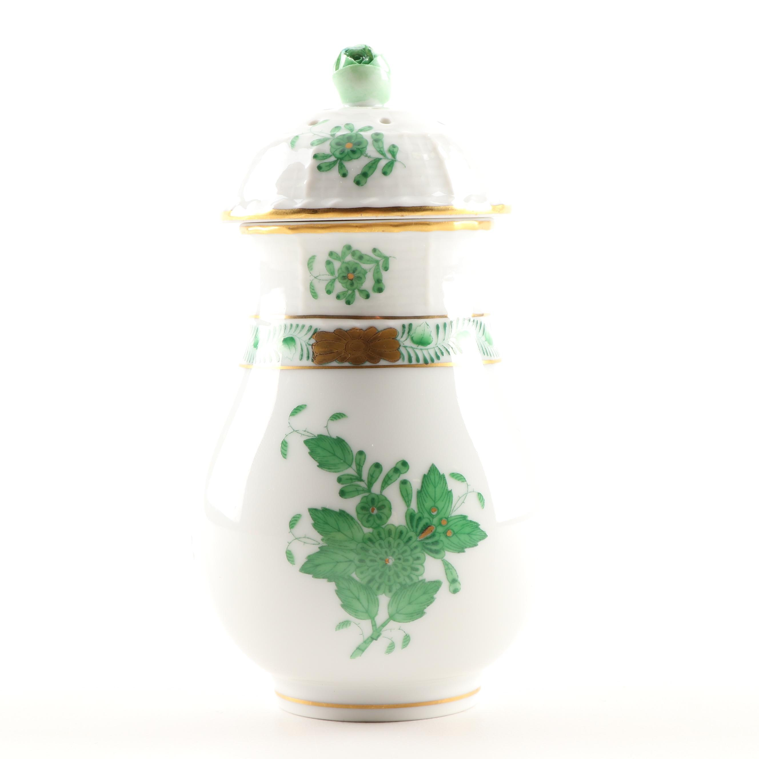 """Herend """"Chinese Bouquet"""" Porcelain Muffineer"""
