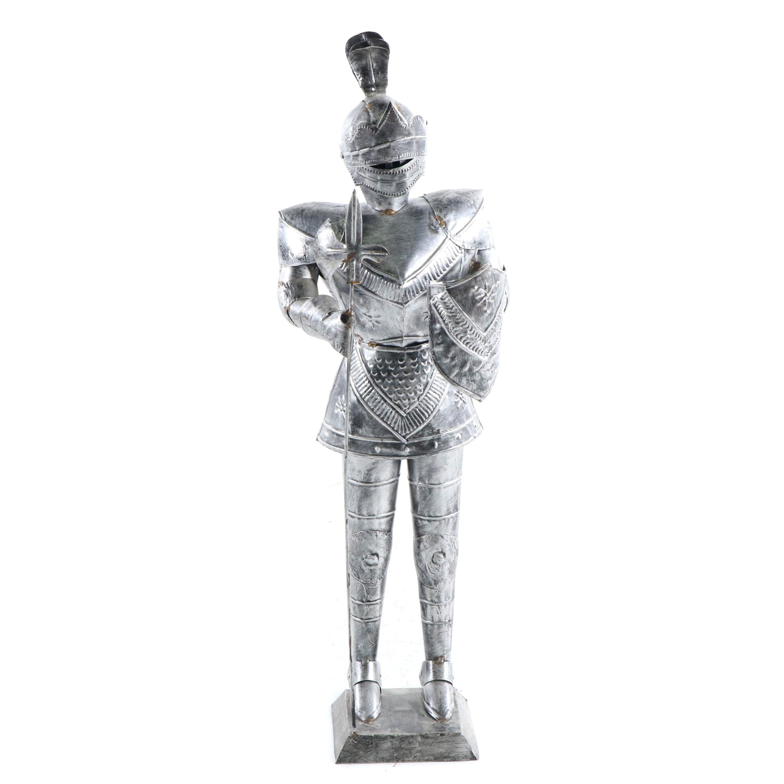 Tin Knight's Suit of Armor Sculpture