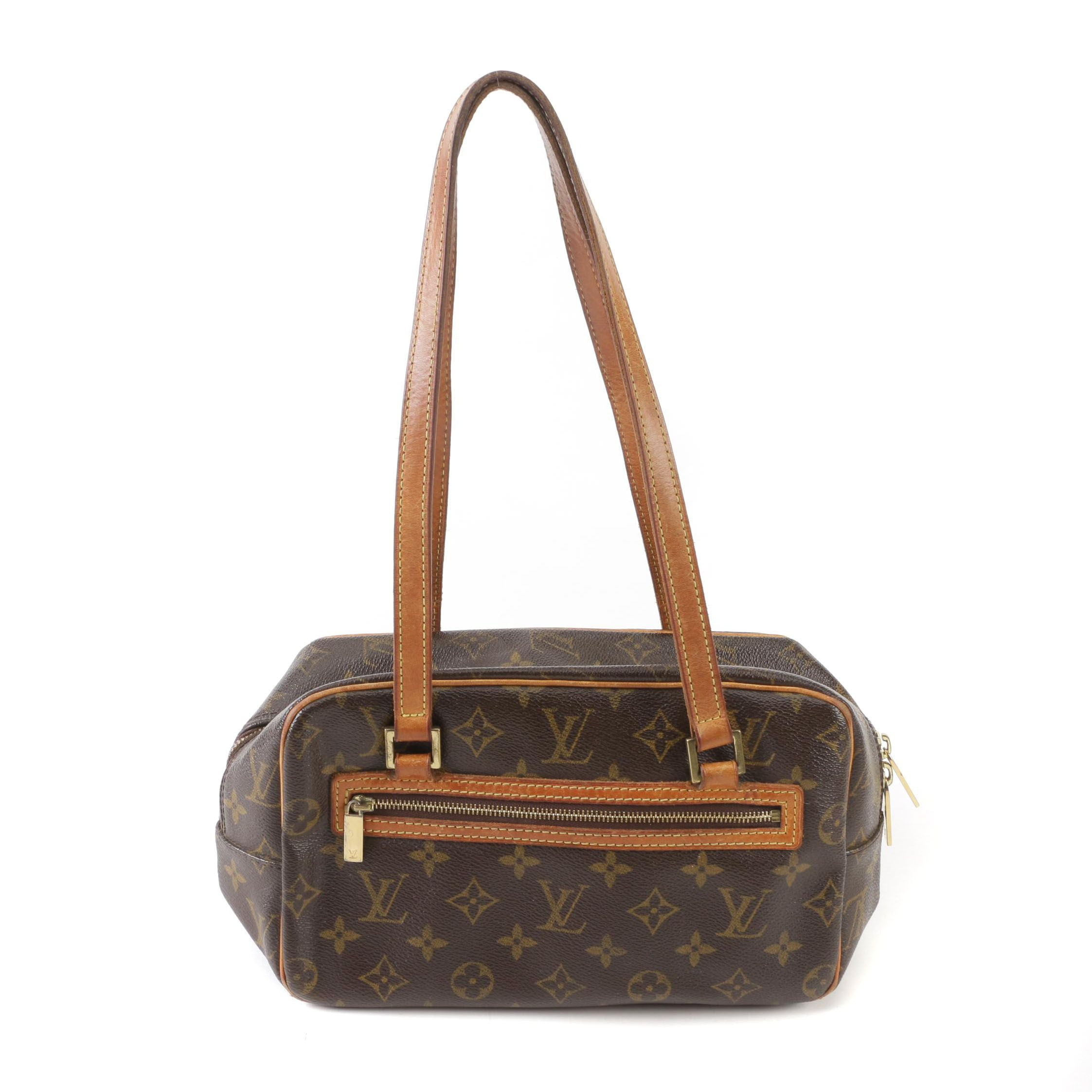 Louis Vuitton Paris Monogram Canvas and Vachetta Leather Cite Shoulder Bag, 2002
