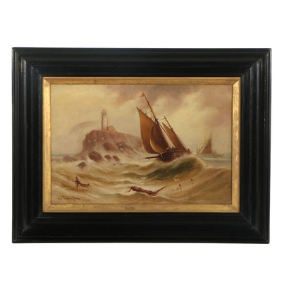 William James Smith Crampton Oil Painting