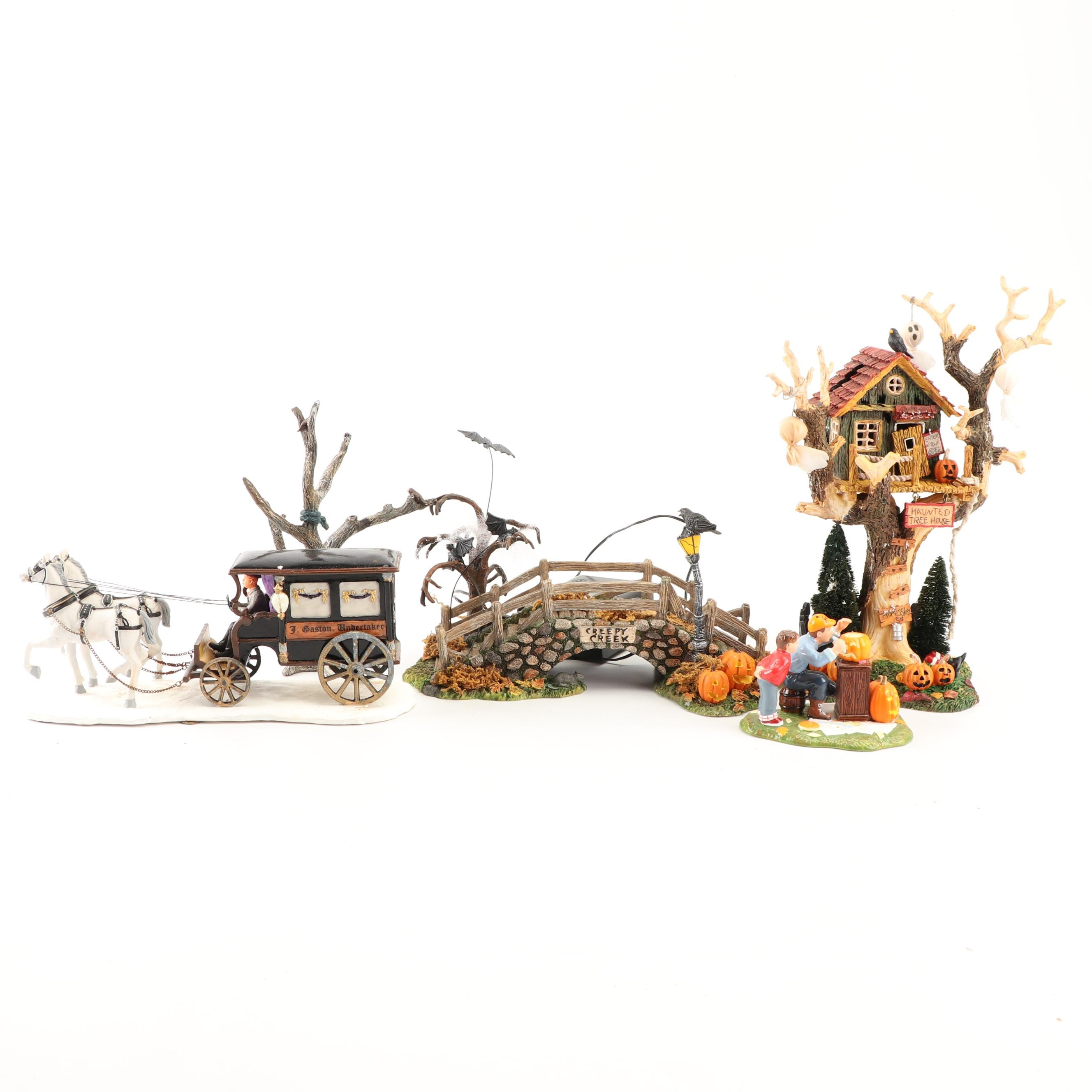 Department 56 Halloween Decor and Accessories