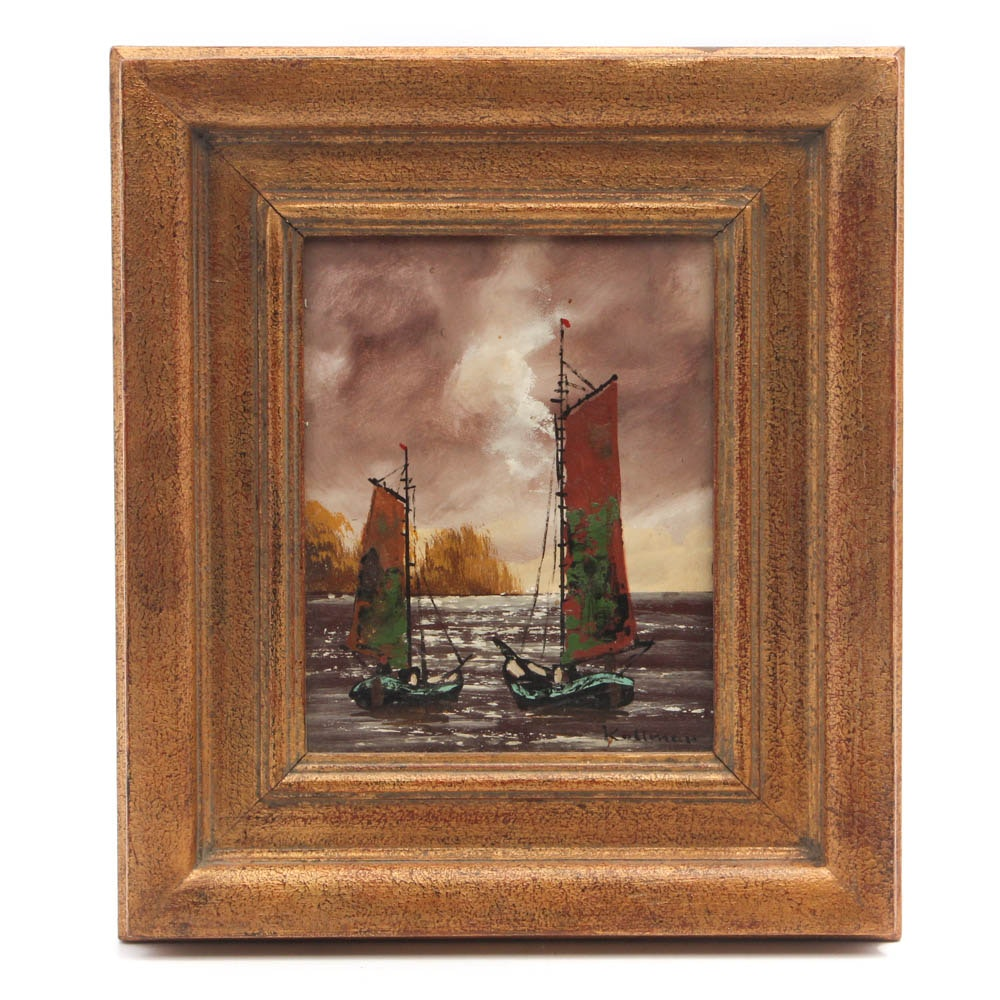 Kallman Oil Painting