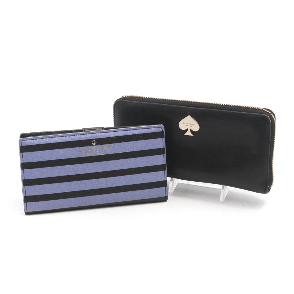 """Kate Spade New York """"Fairmount Square Stacy"""" and """"Leroy Street"""" Wallets"""