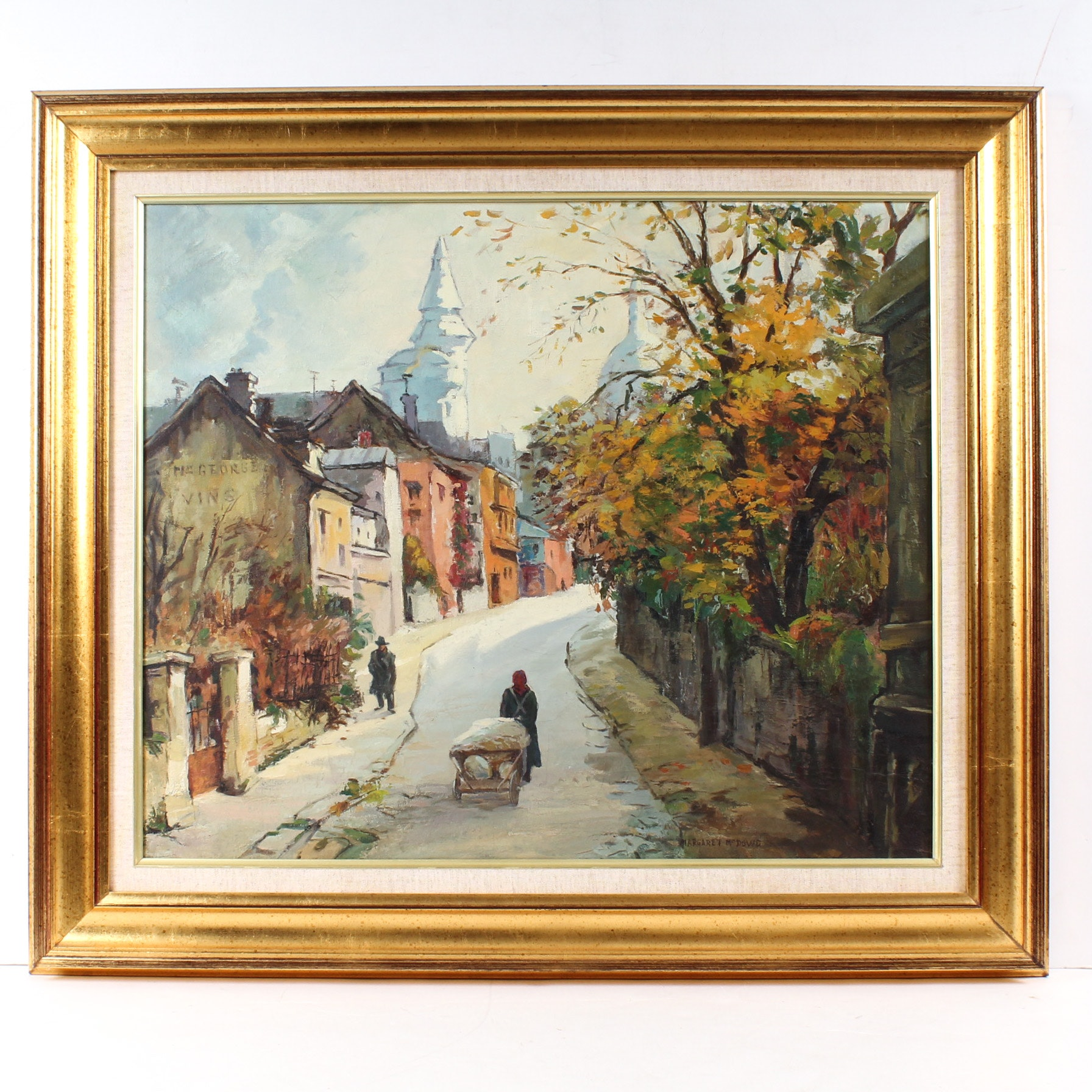 Margaret McDowd Landscape Oil Painting